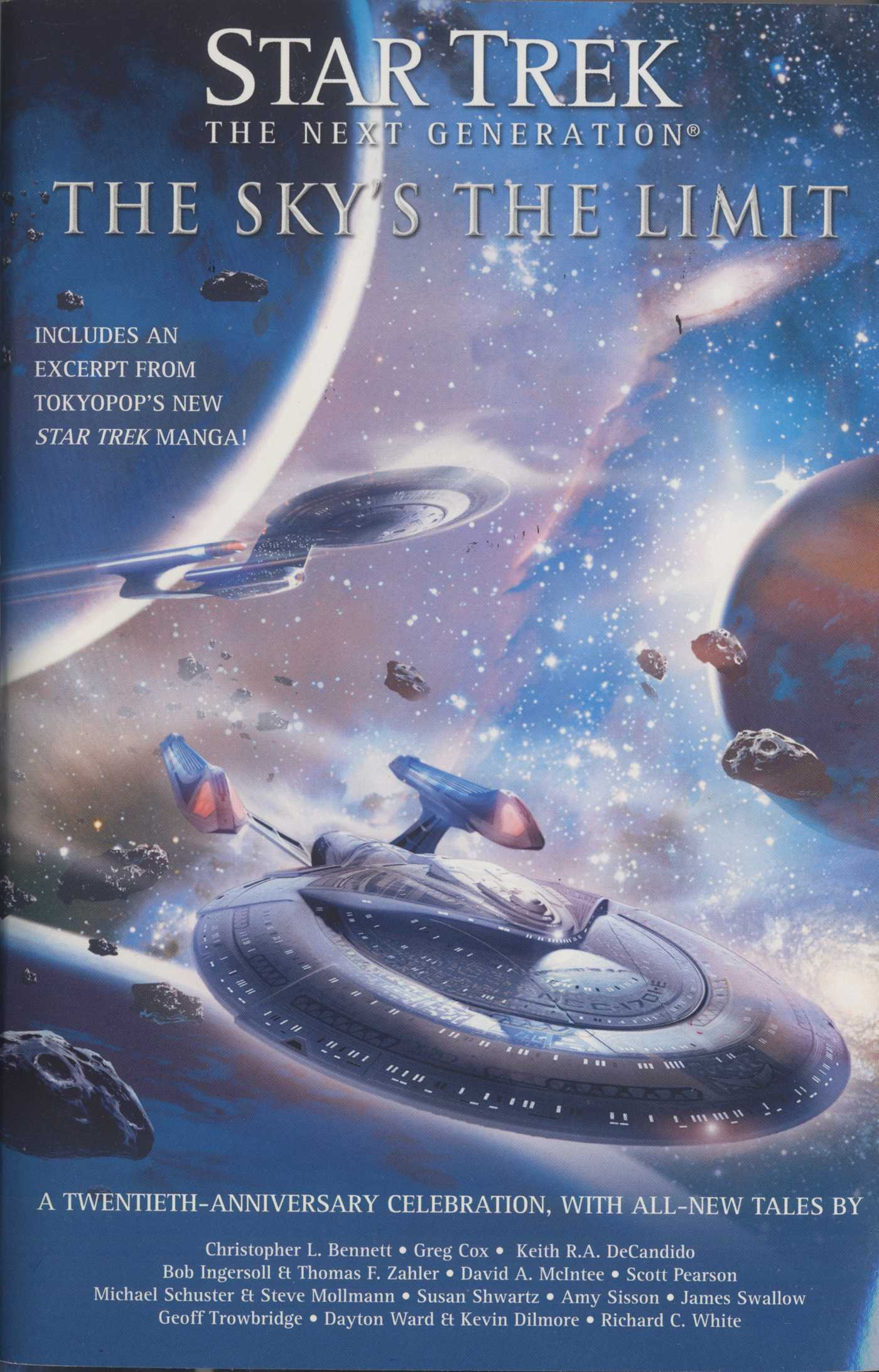 Star trek the next generation the skys the limit 9781416554707 hr