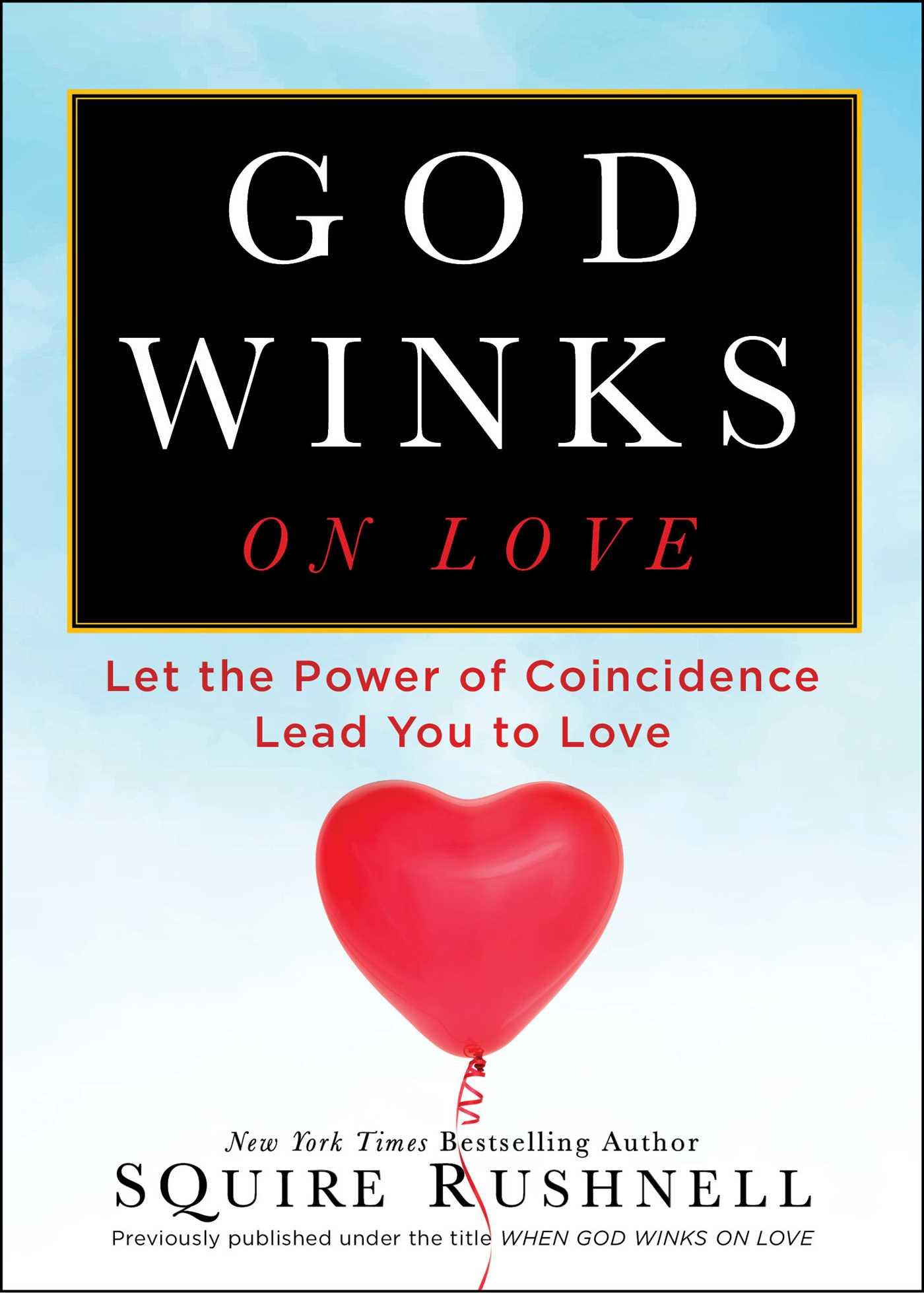 When god winks on love 9781416556381 hr