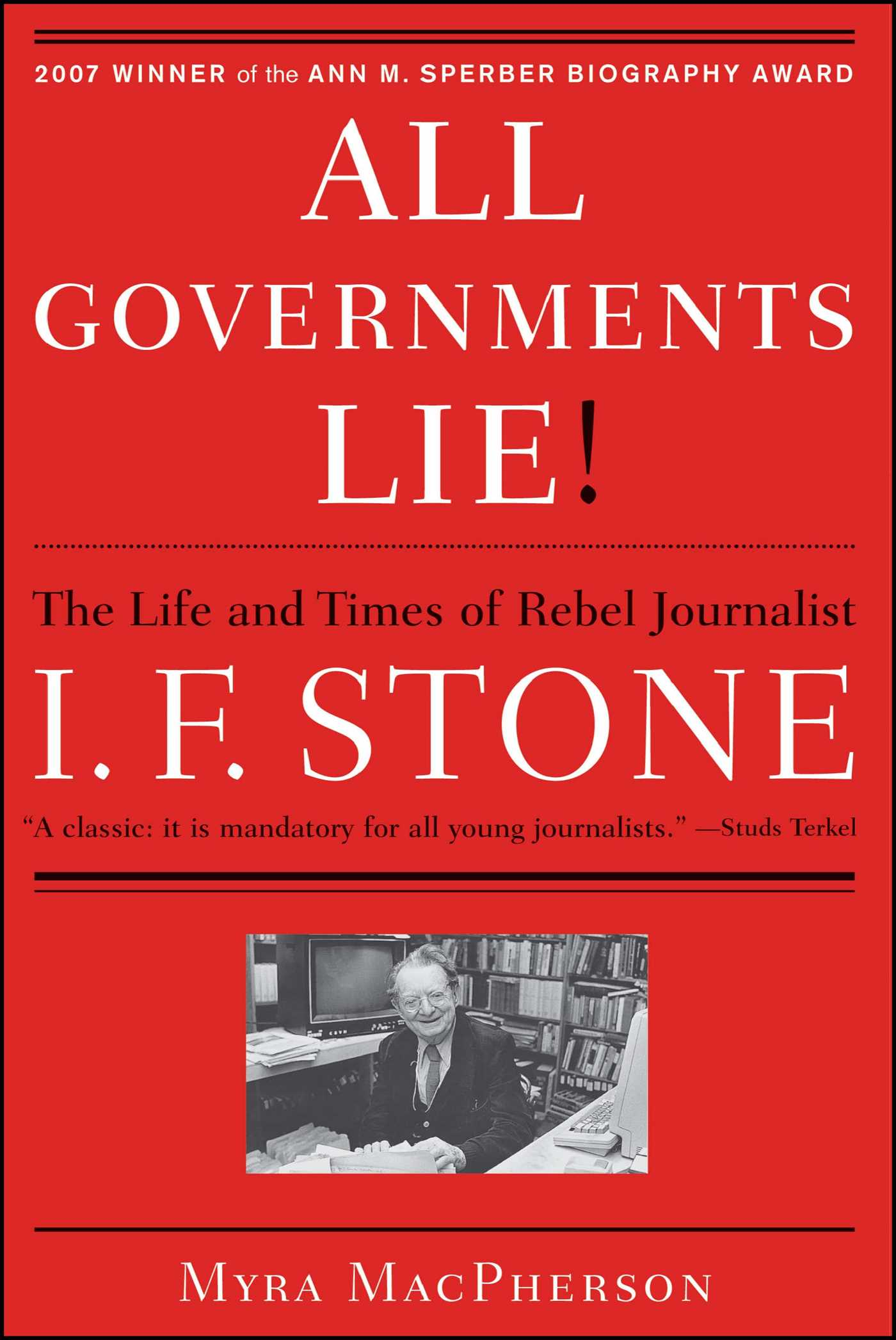 All governments lie 9781416556794 hr