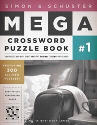 Simon & Schuster Mega Crossword Puzzle Book #1