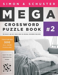 Simon & Schuster Mega Crossword Puzzle Book #2