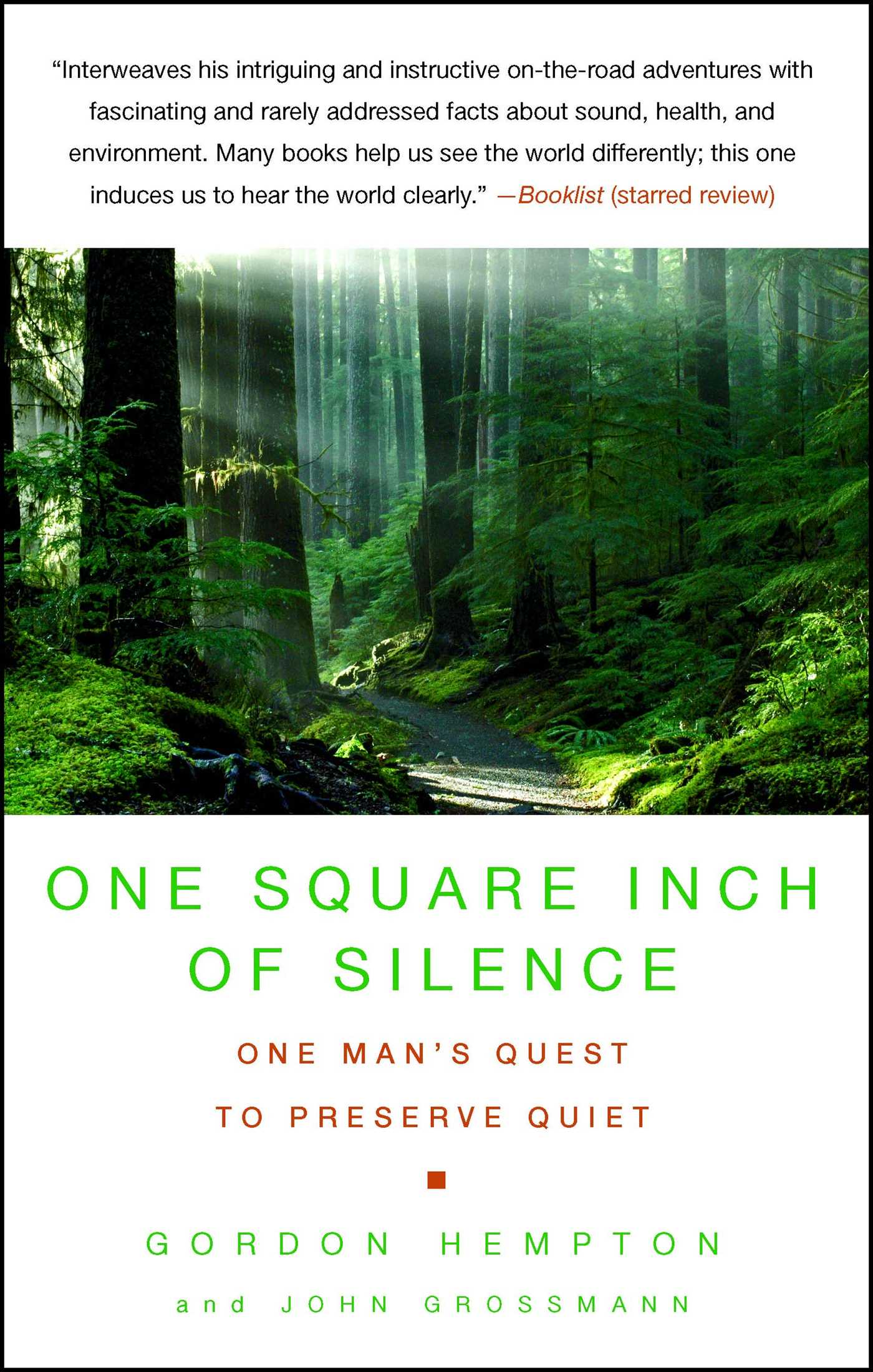 One square inch of silence 9781416559825 hr