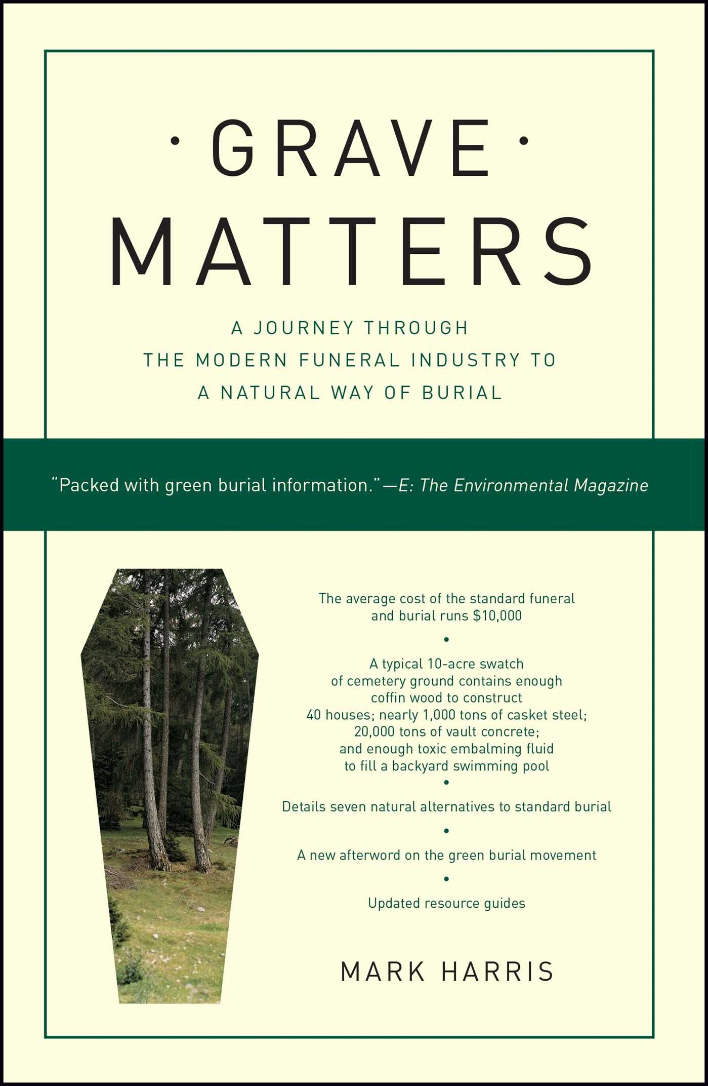 Grave Matters | Book by Mark Harris | Official Publisher