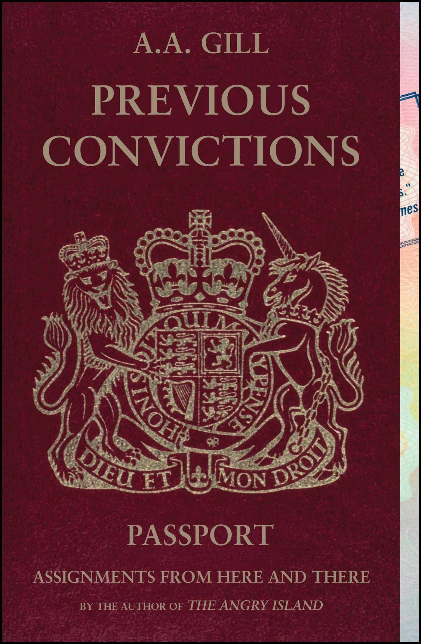 Previous convictions 9781416572497 hr