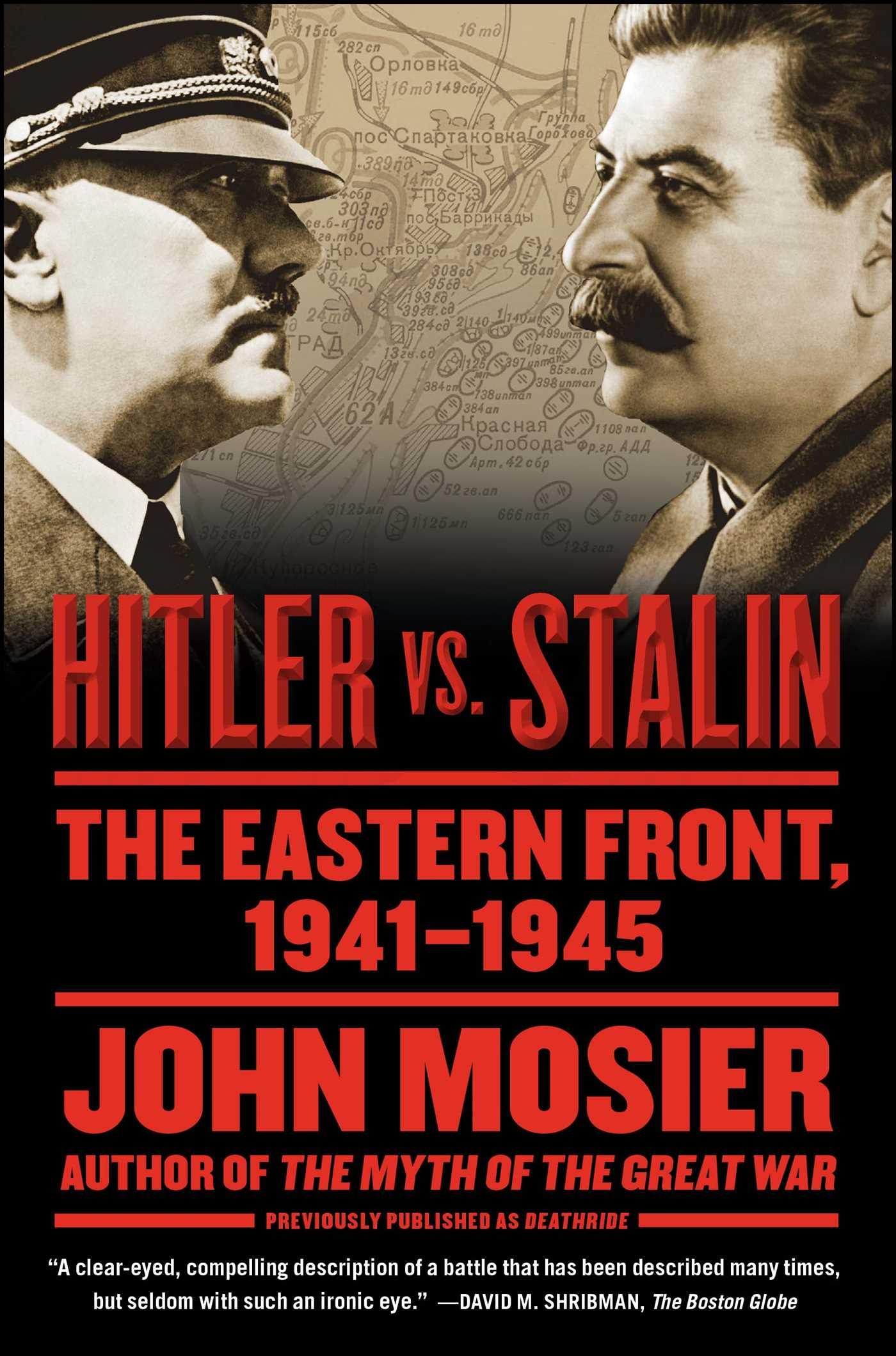 Hitler vs stalin 9781416573500 hr