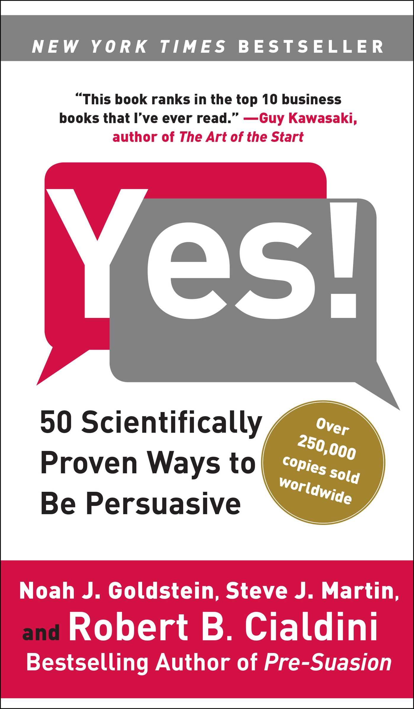Yes! | Book by Noah J. Goldstein, Steve J. Martin, Robert Cialdini ...