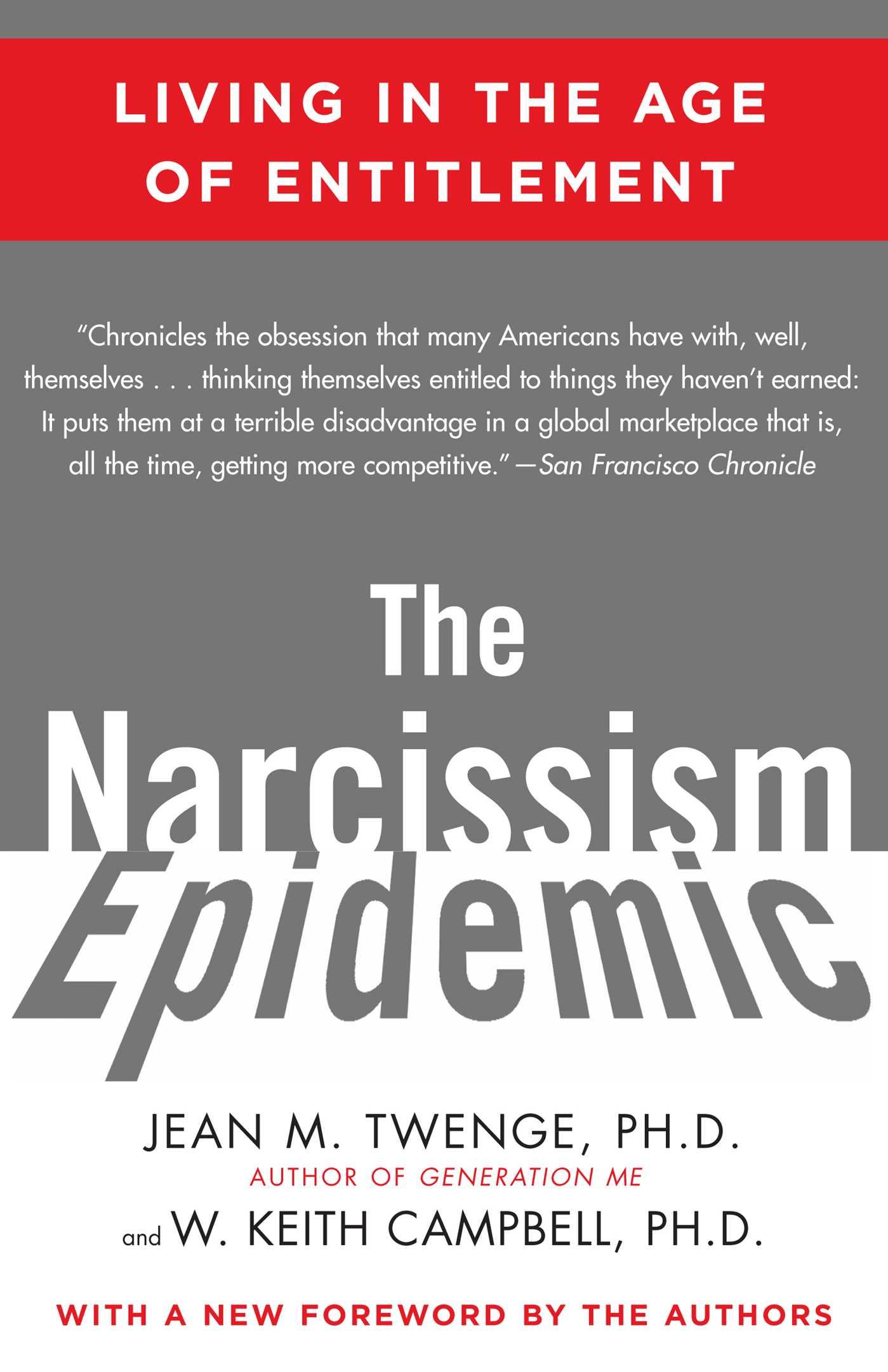 The narcissism epidemic 9781416576259 hr