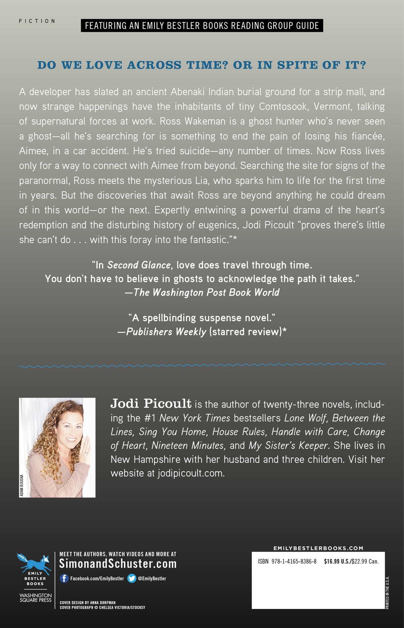 Second Glance | Book by Jodi Picoult | Official Publisher Page