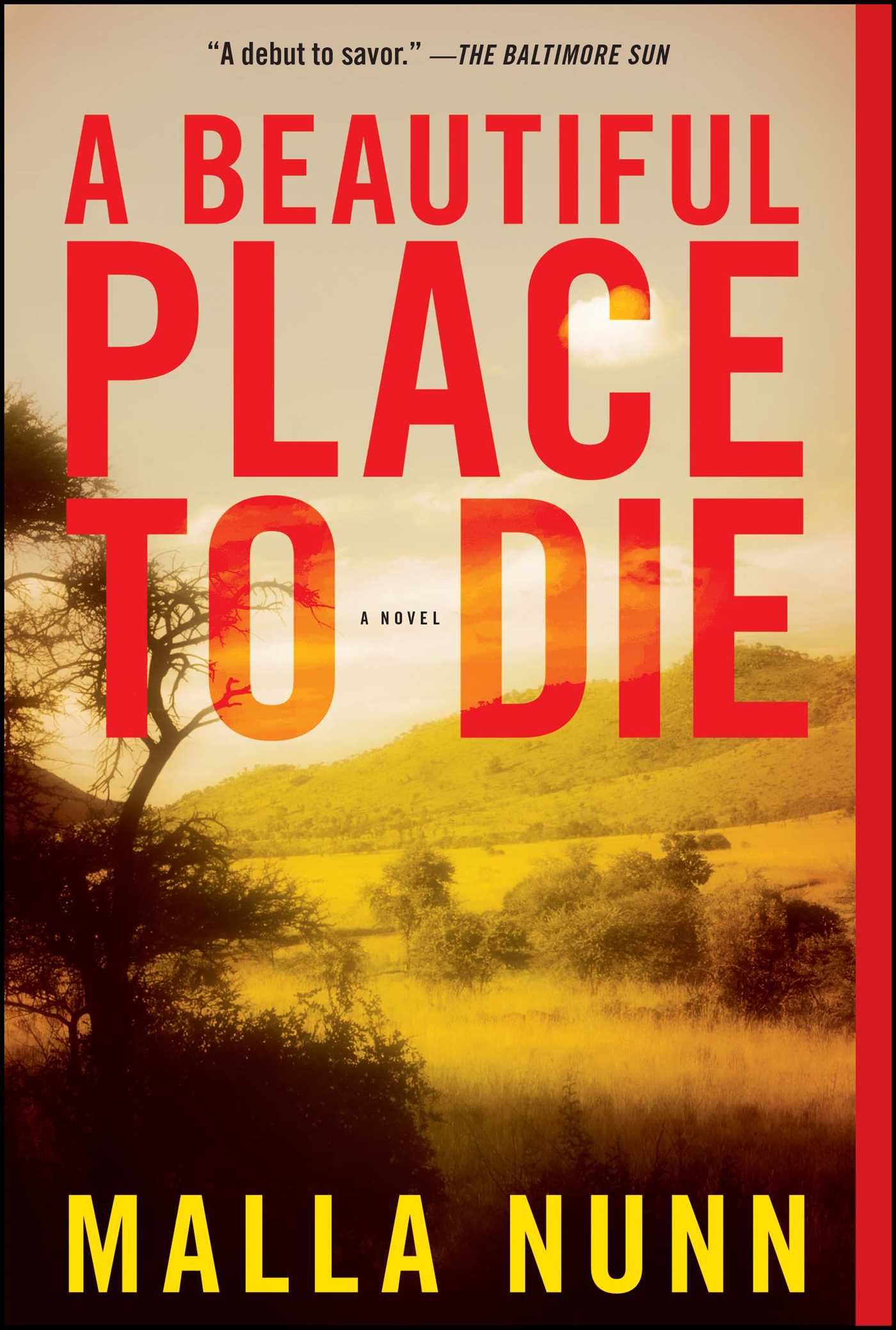 A beautiful place to die 9781416586210 hr