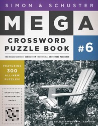 Simon & Schuster Mega Crossword Puzzle Book #6