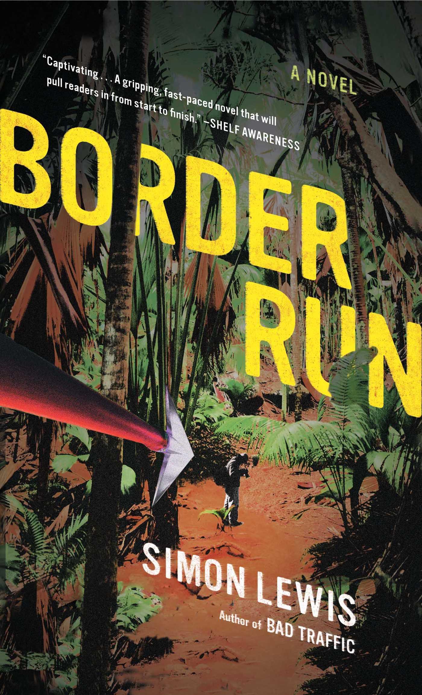 Border Run 9781416596066 Hr
