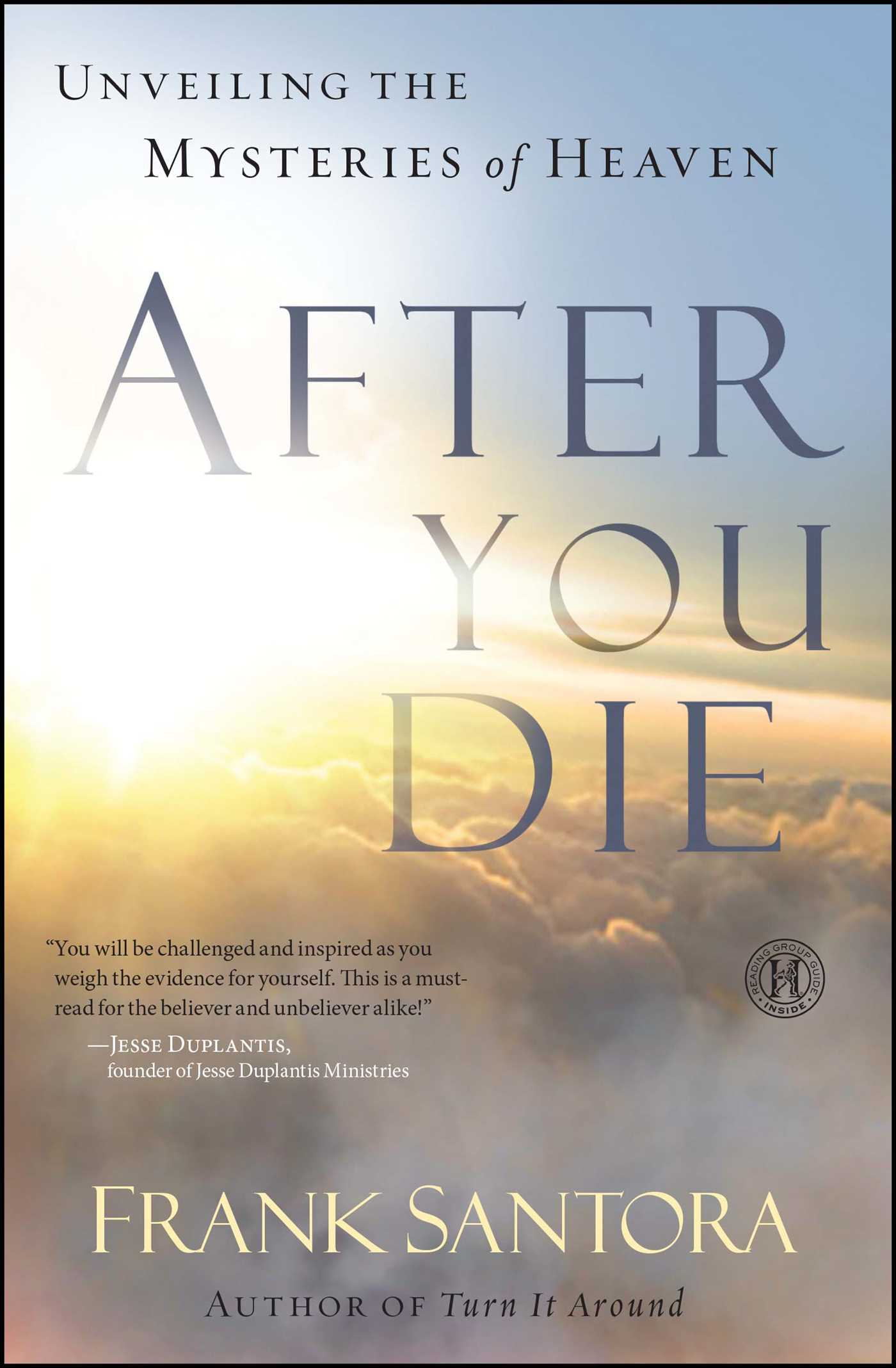 After You Die | Book by Frank Santora | Official Publisher