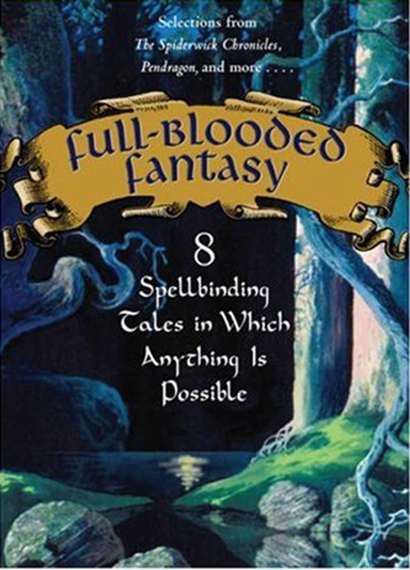 Full blooded fantasy 9781416912972 hr
