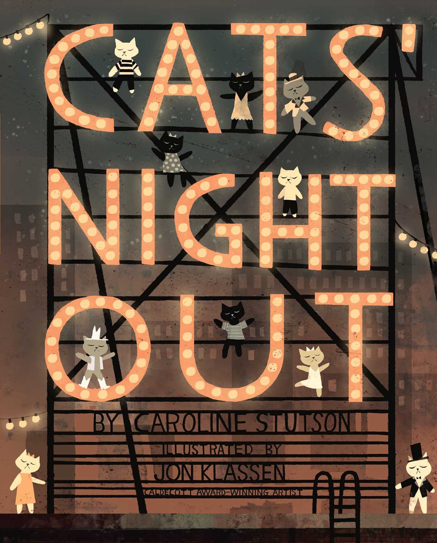 Cats night out 9781416940050 hr