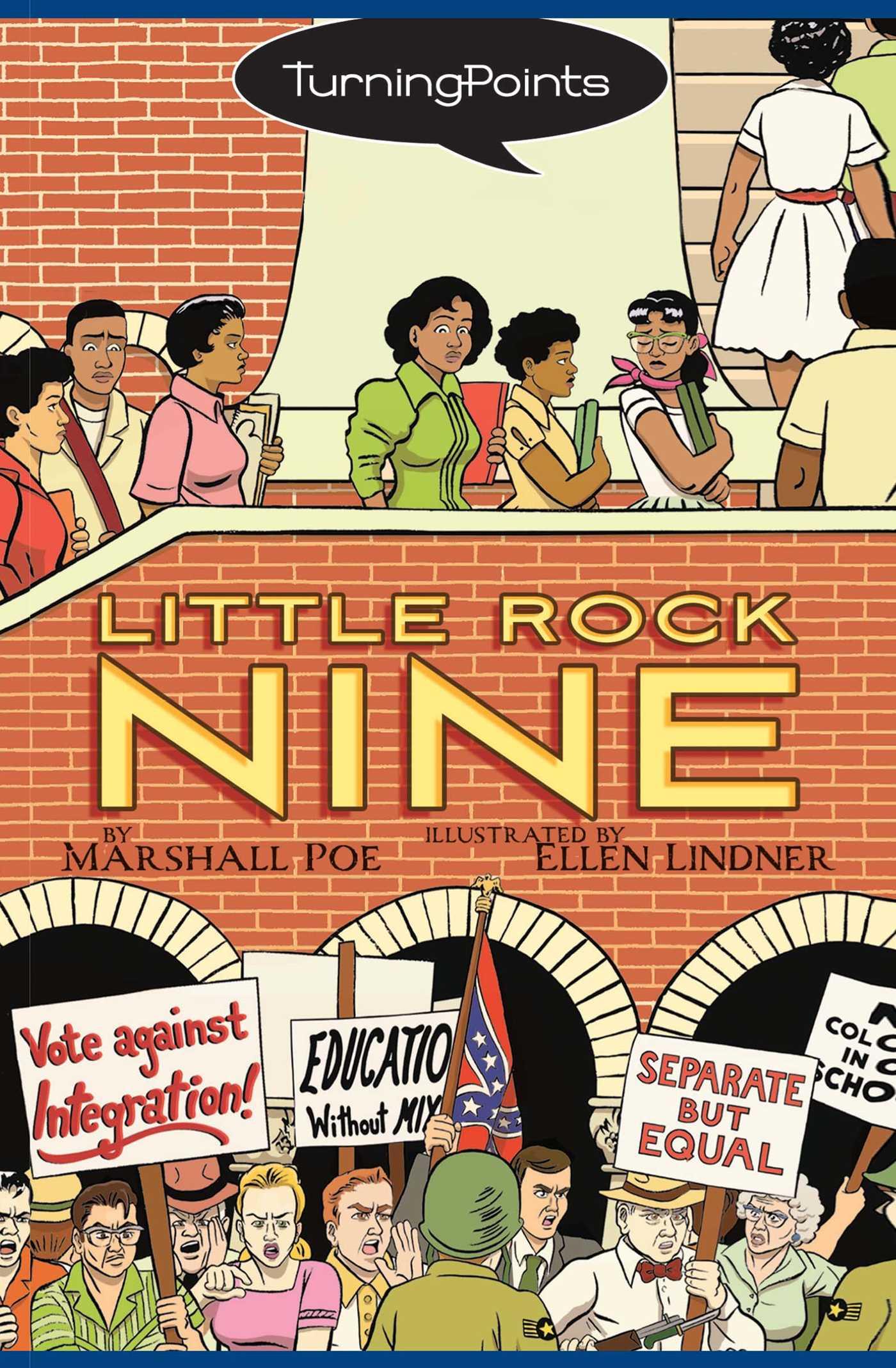 Little rock nine 9781416950660 hr