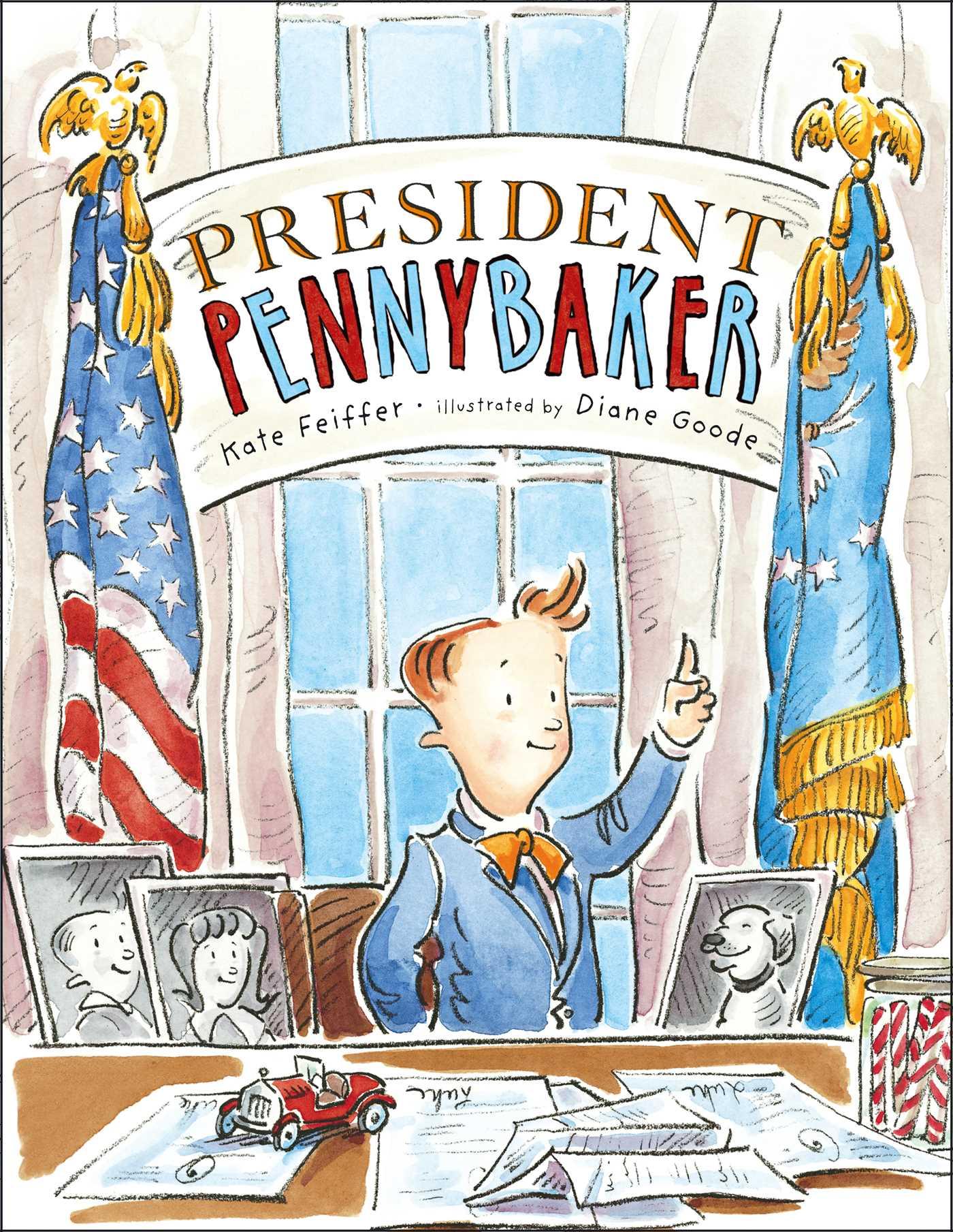 President pennybaker 9781416964773 hr