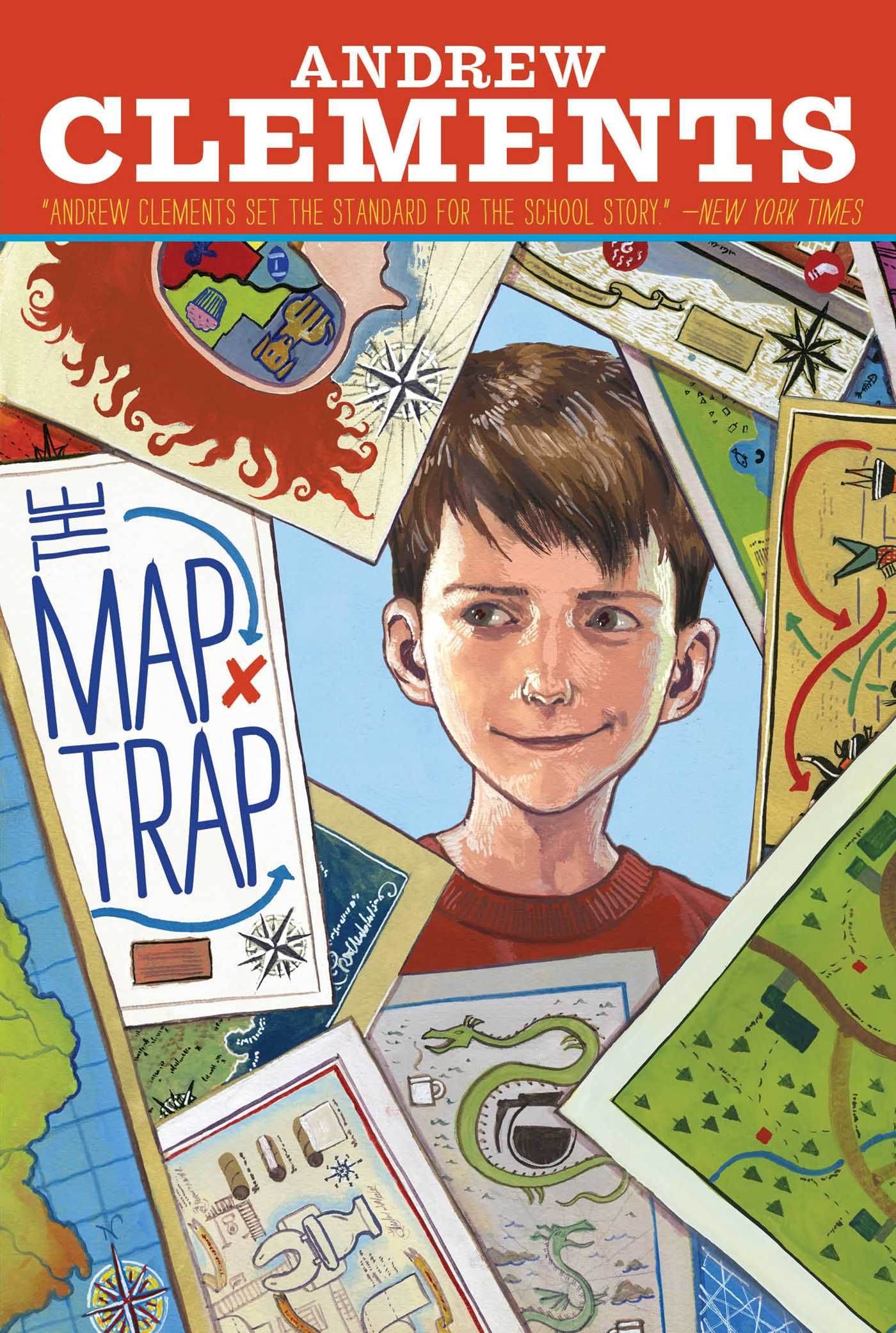 The map trap 9781416997290 hr