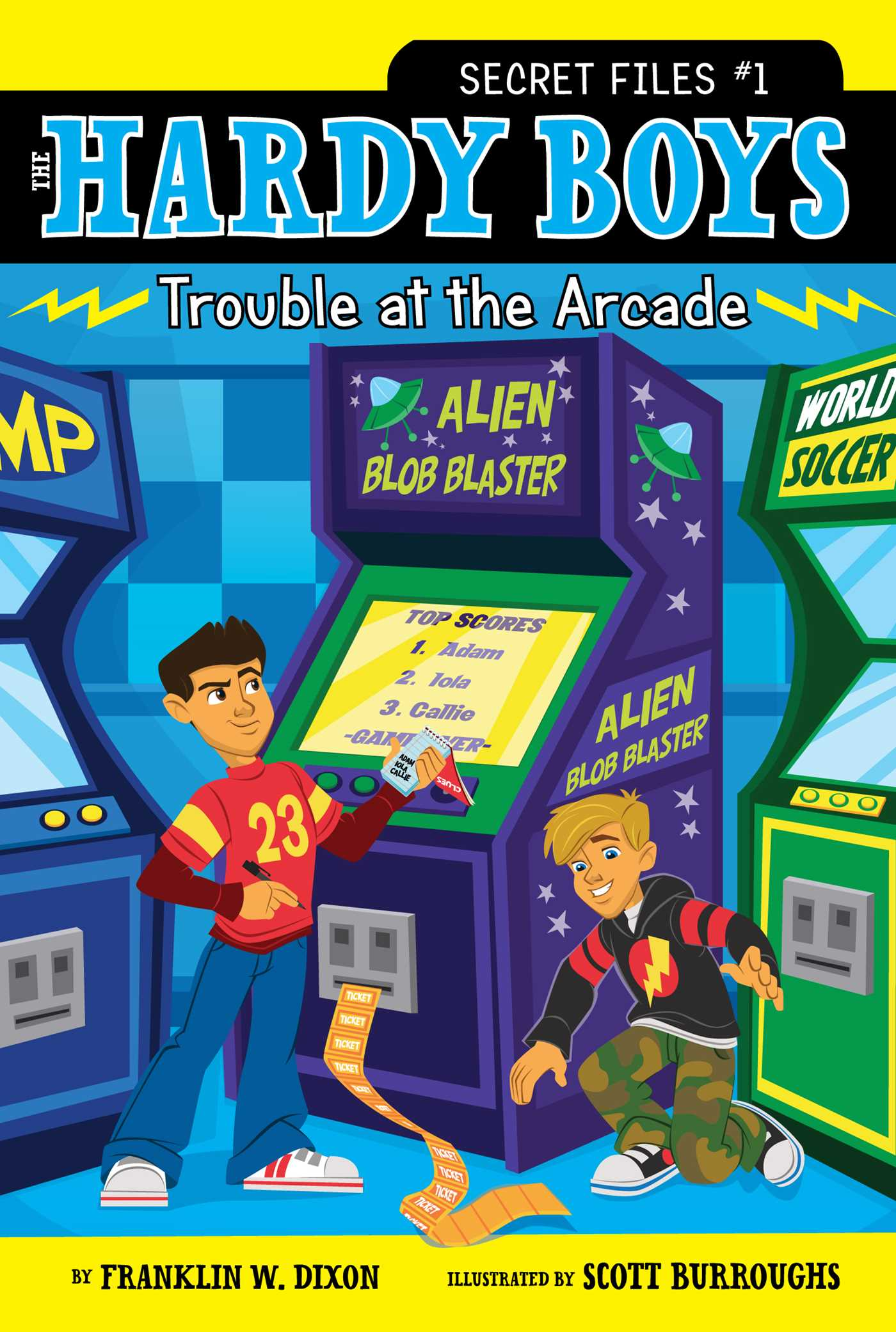 Trouble at the arcade 9781416999225 hr