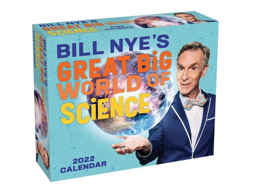 Big Calendar 2022.Bill Nye S Great Big World Of Science 2022 Day To Day Calendar Book Summary Video Official Publisher Page Simon Schuster