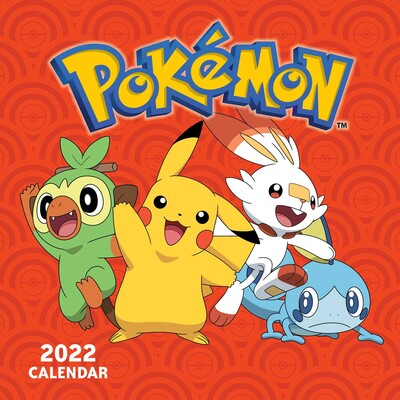 Mini 2022 Calendar.Pokemon 2022 Mini Wall Calendar Book Summary Video Official Publisher Page Simon Schuster