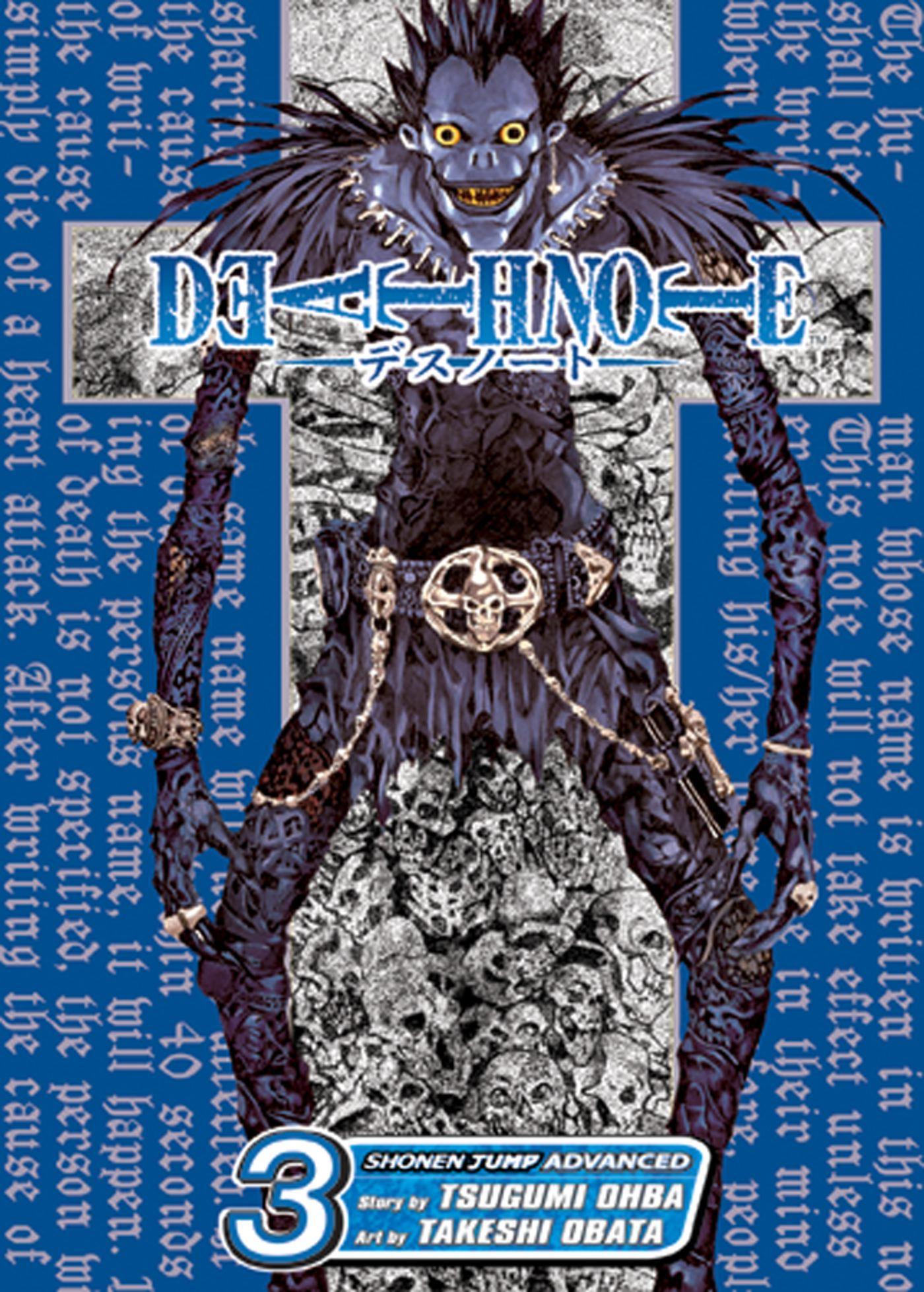 Death note vol 3 9781421501703 hr