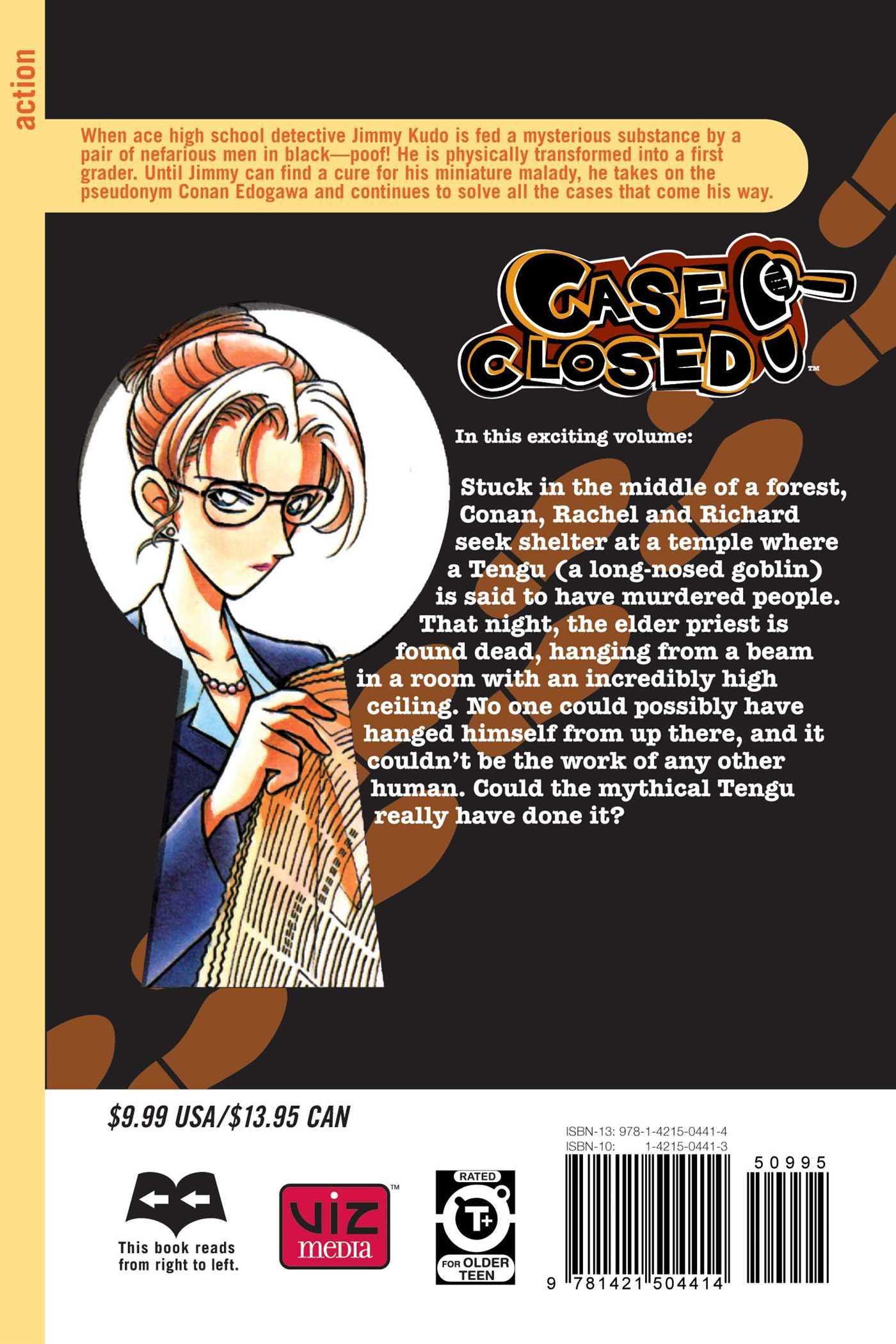 Case closed vol 11 9781421504414 hr back