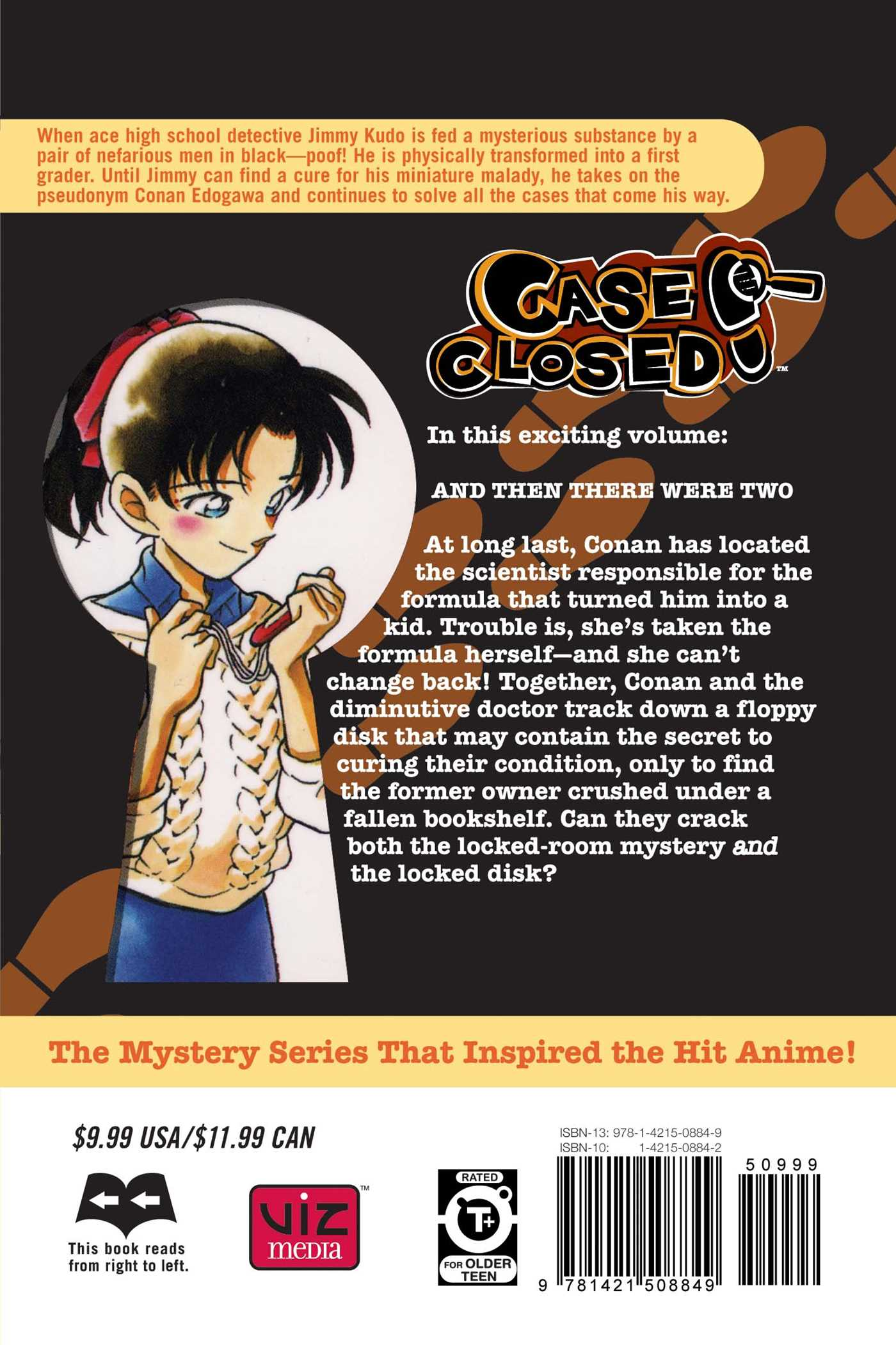 Case closed vol 19 9781421508849 hr back