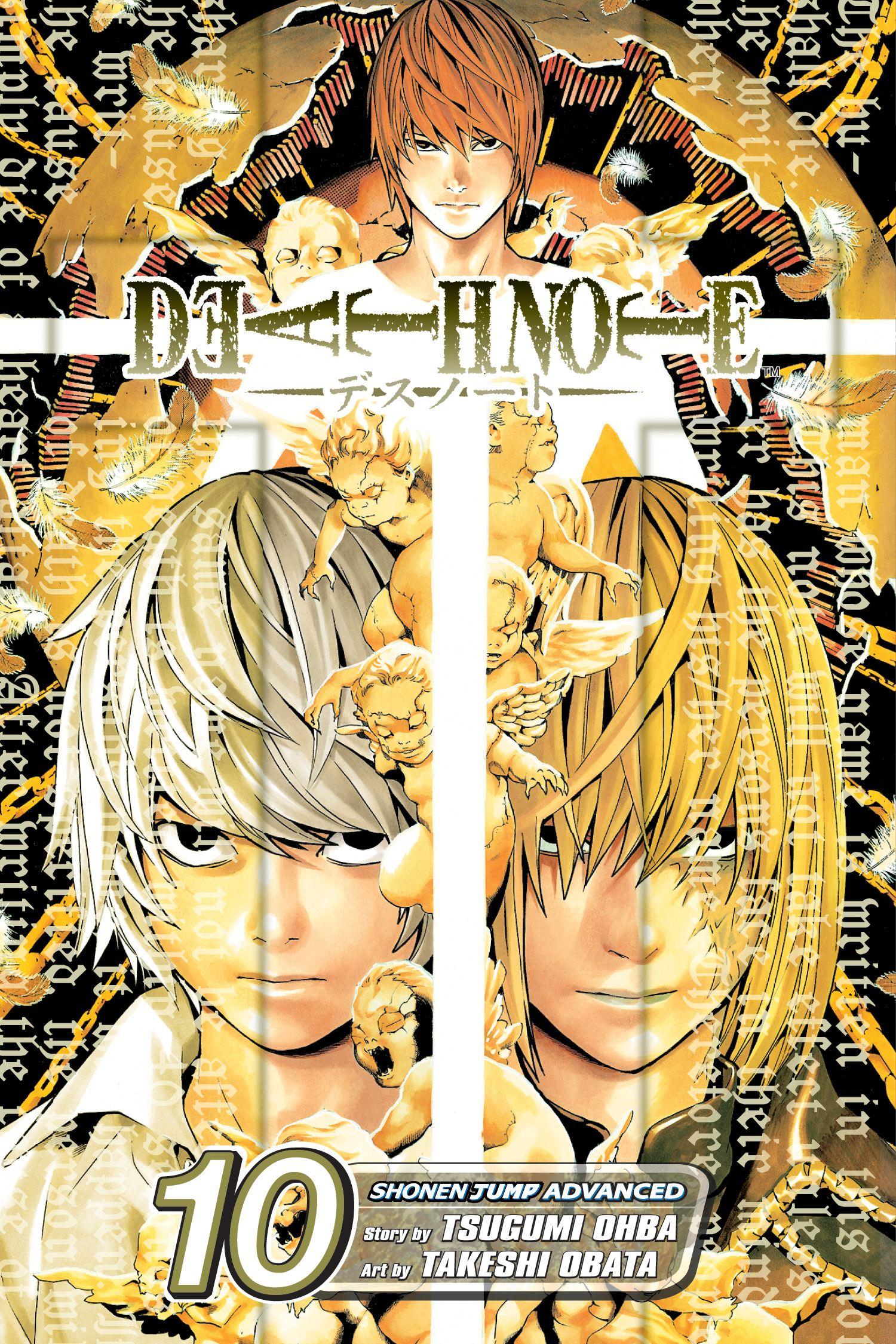 Death note vol 10 9781421511559 hr
