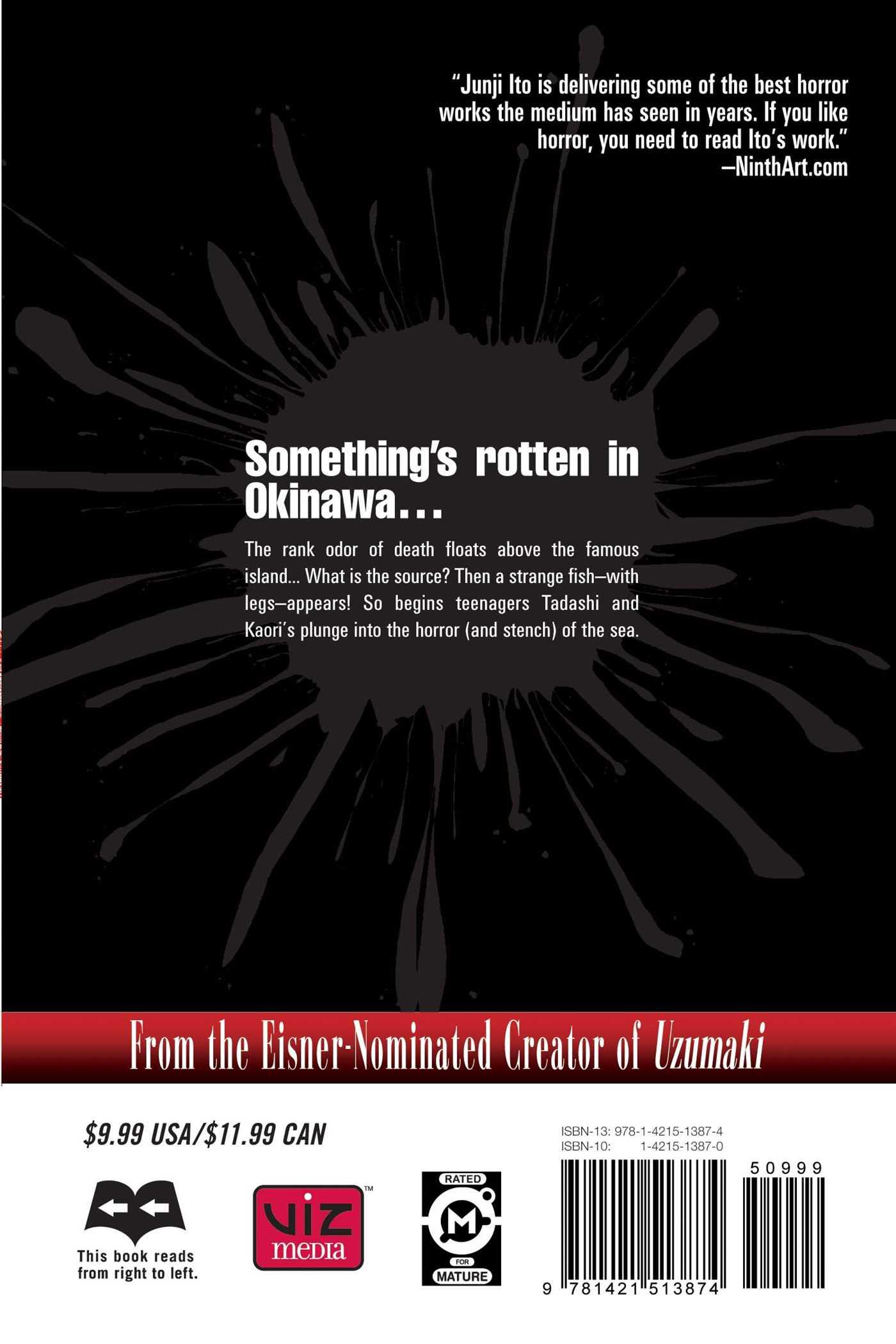 Gyo vol 1 2nd edition 9781421513874 hr back