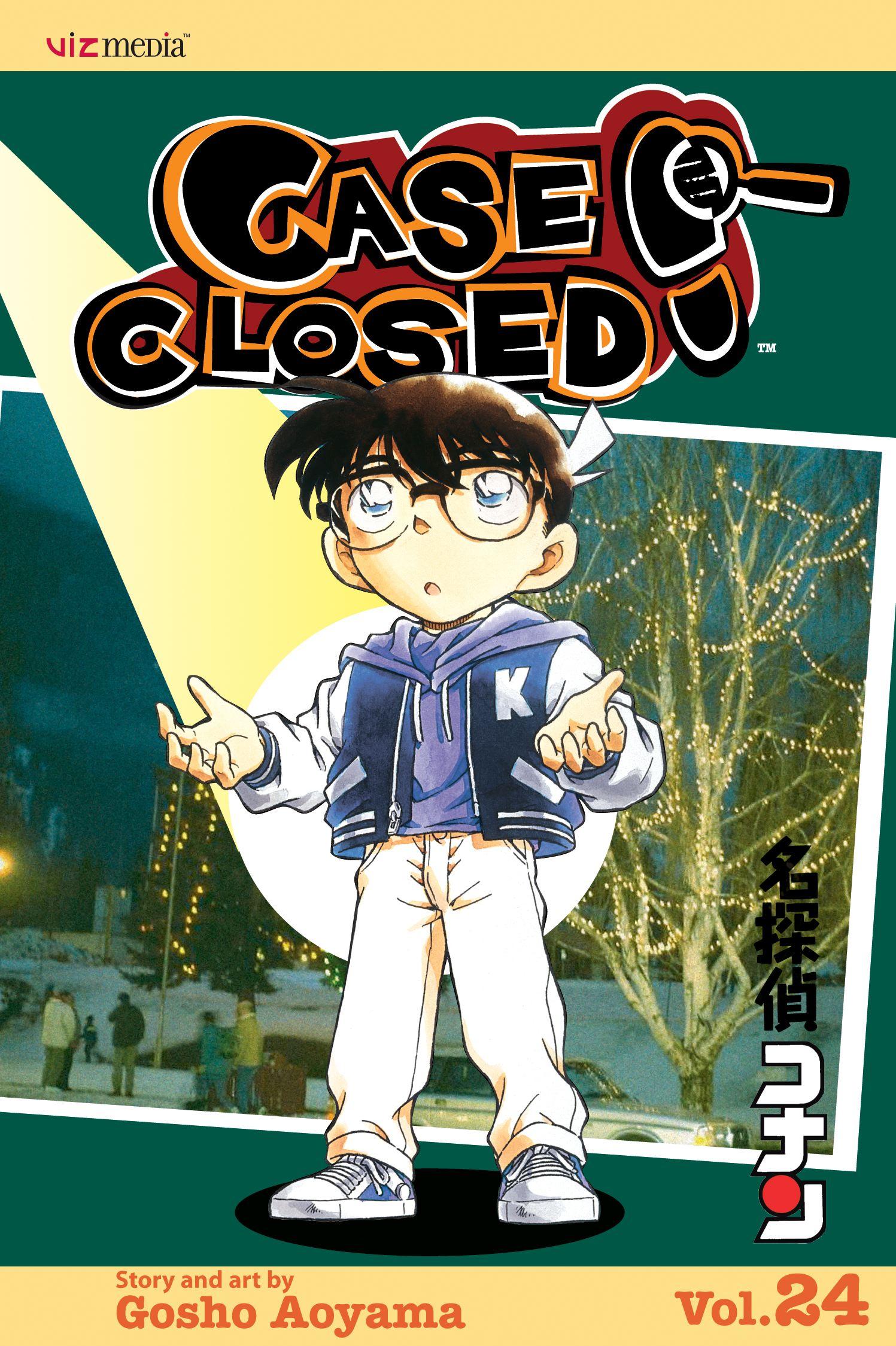 Case closed vol 24 9781421516769 hr