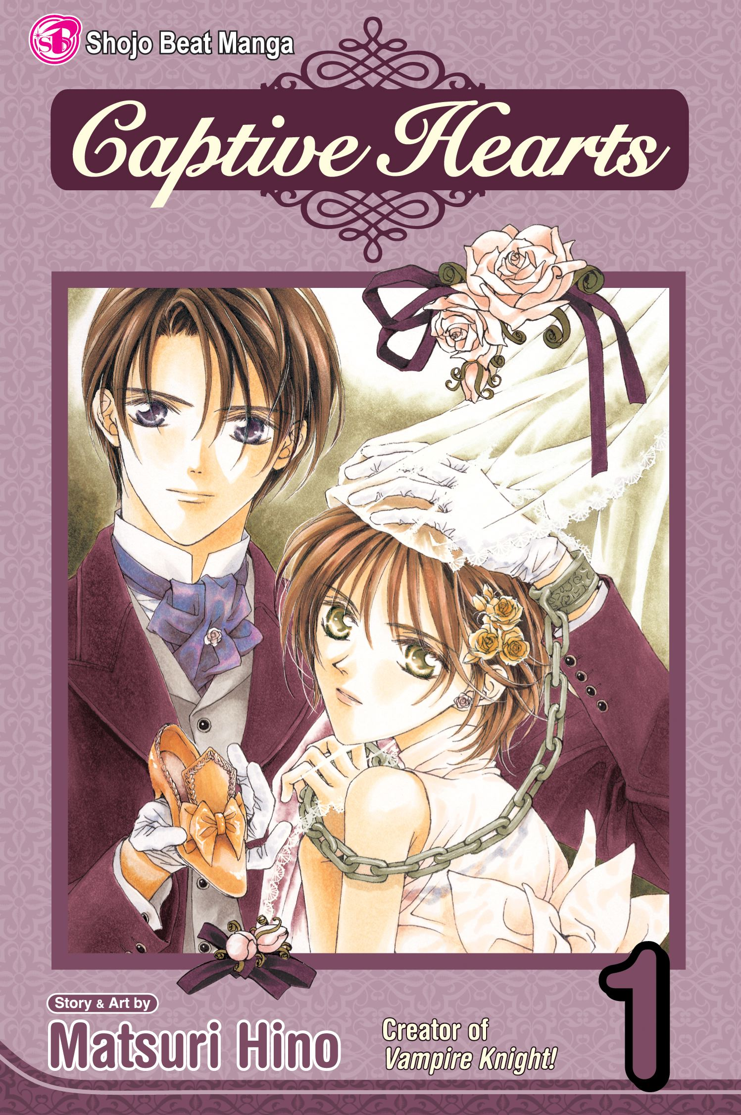 Book Cover Image (jpg): Captive Hearts, Vol. 1