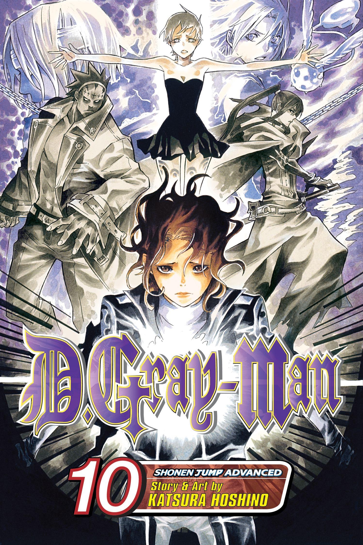 Read Dgray Man Vol 10 Dgray Man 10 By Katsura Hoshino