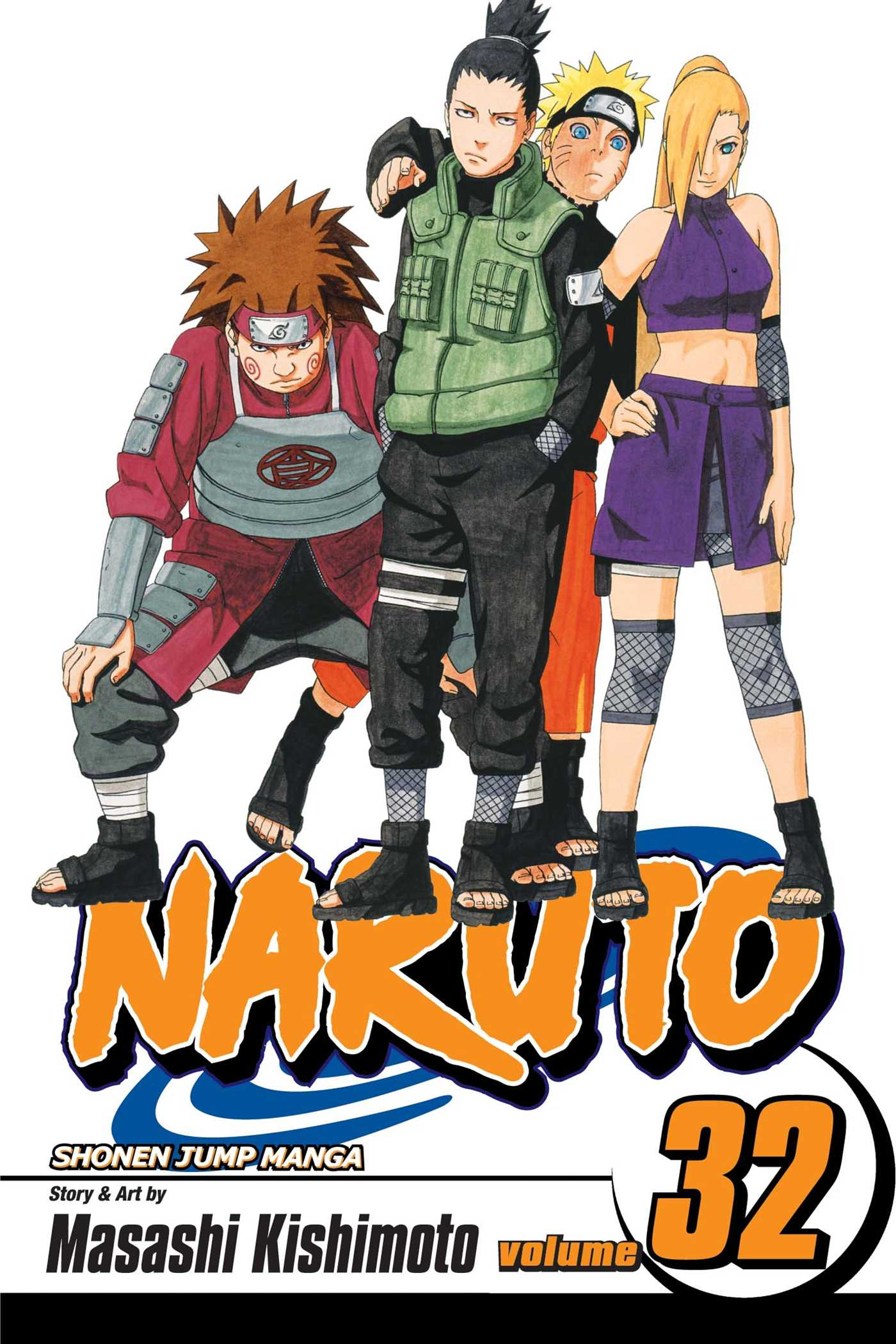 Naruto vol 32 9781421519449 hr