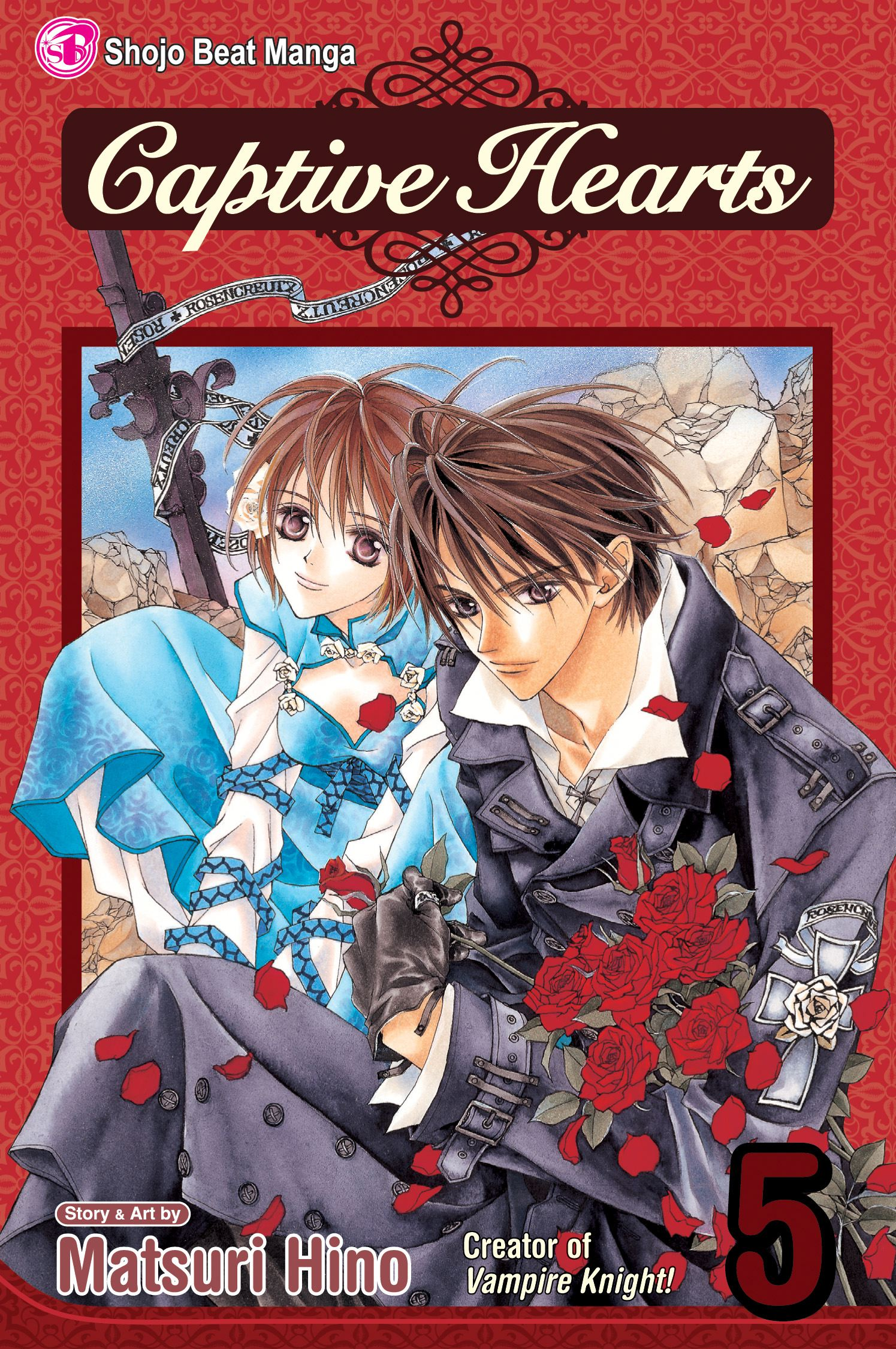 Book Cover Image (jpg): Captive Hearts, Vol. 5