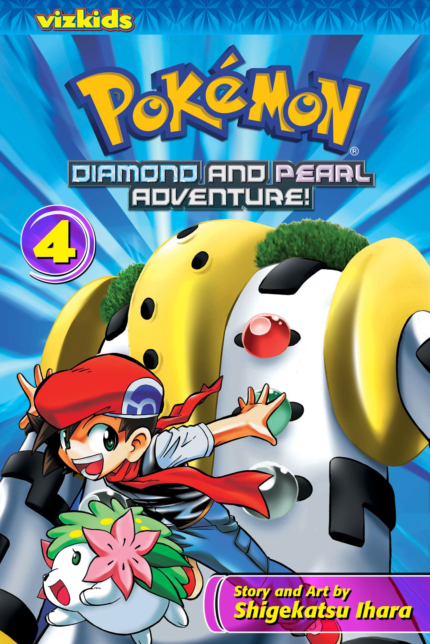 Pok 233 Mon Diamond And Pearl Adventure Vol 4 Book By