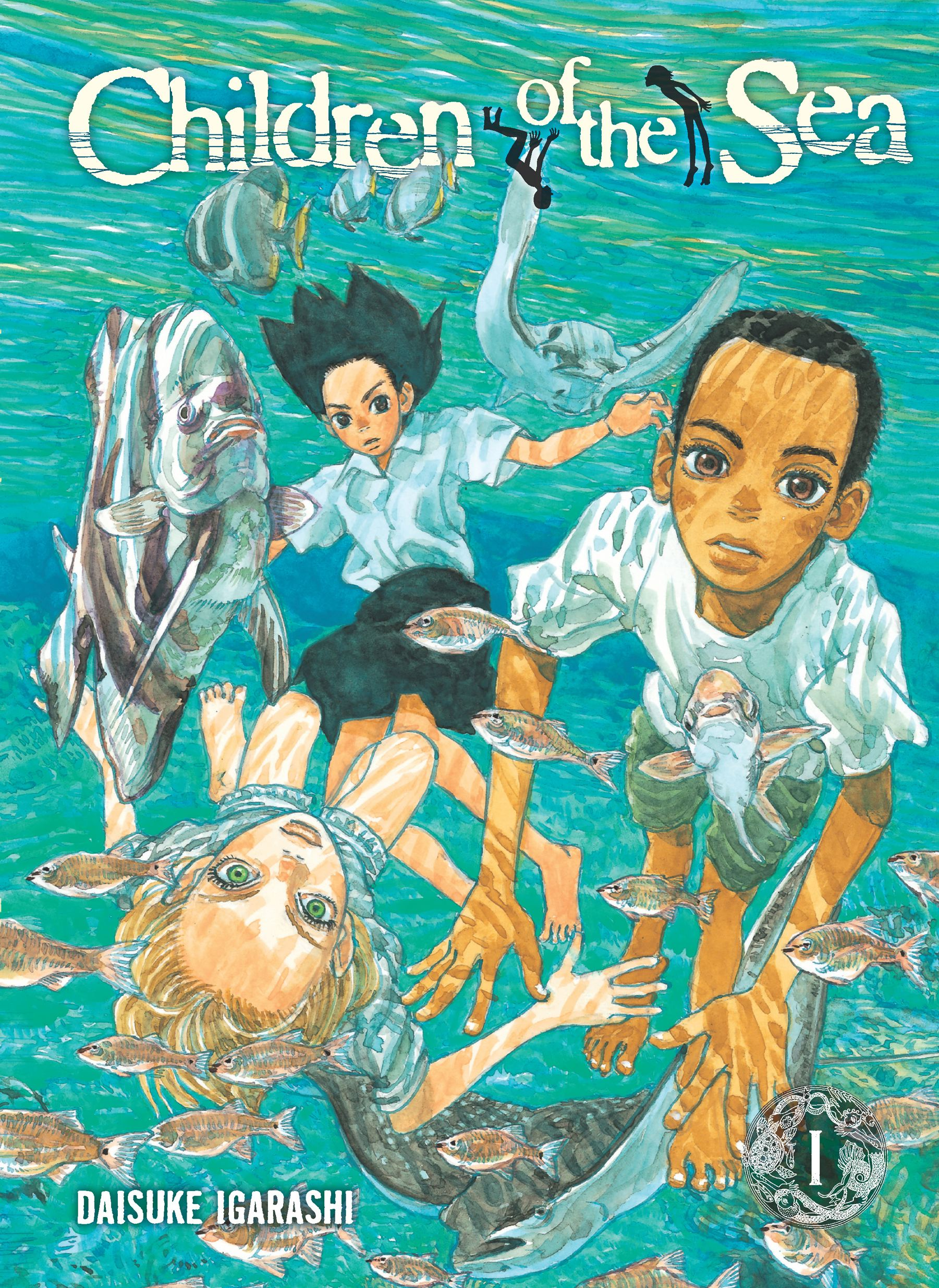 Children of the sea vol 1 9781421529141 hr