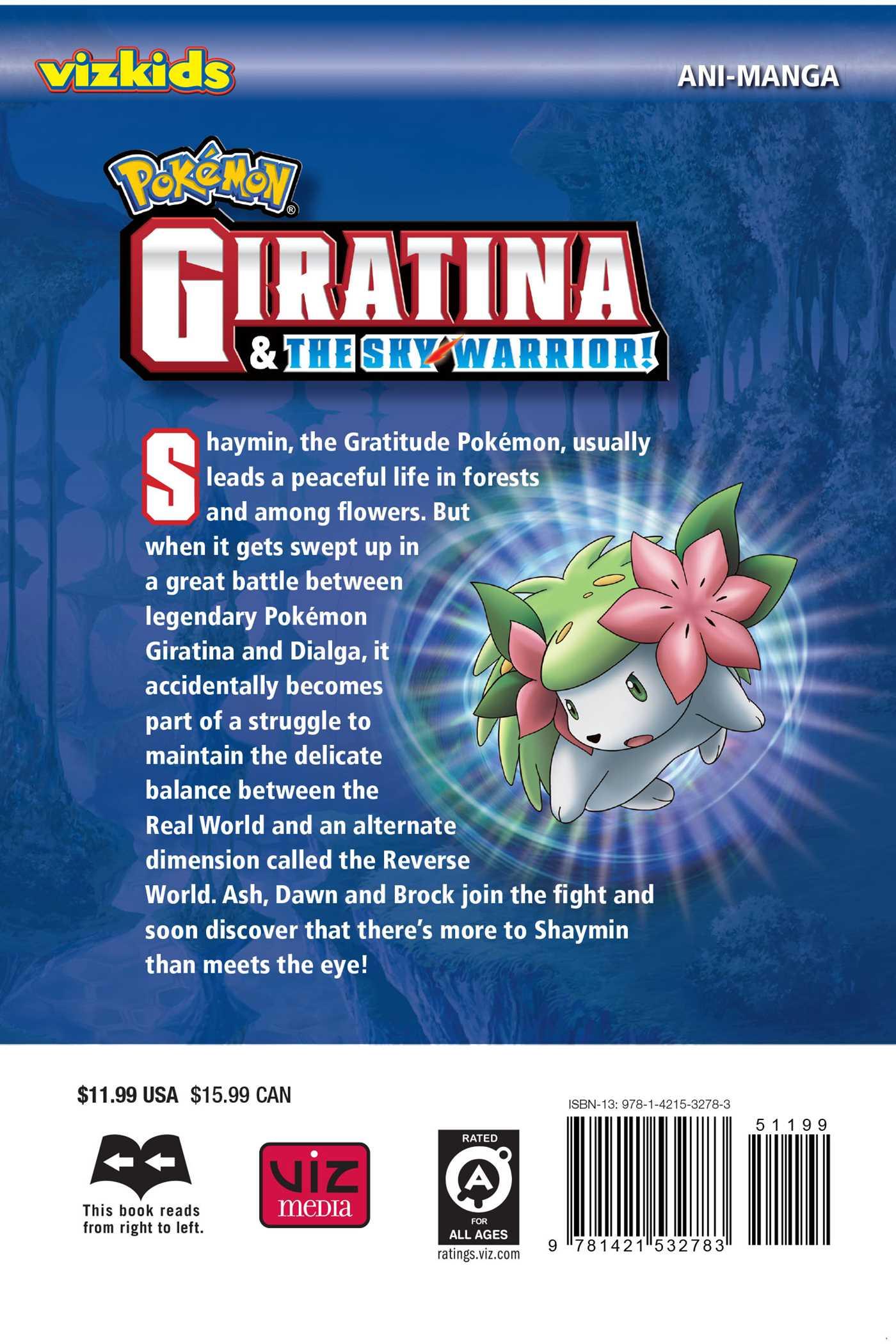 Pokemon Giratina And The Sky Warrior Ani Manga Book By Makoto