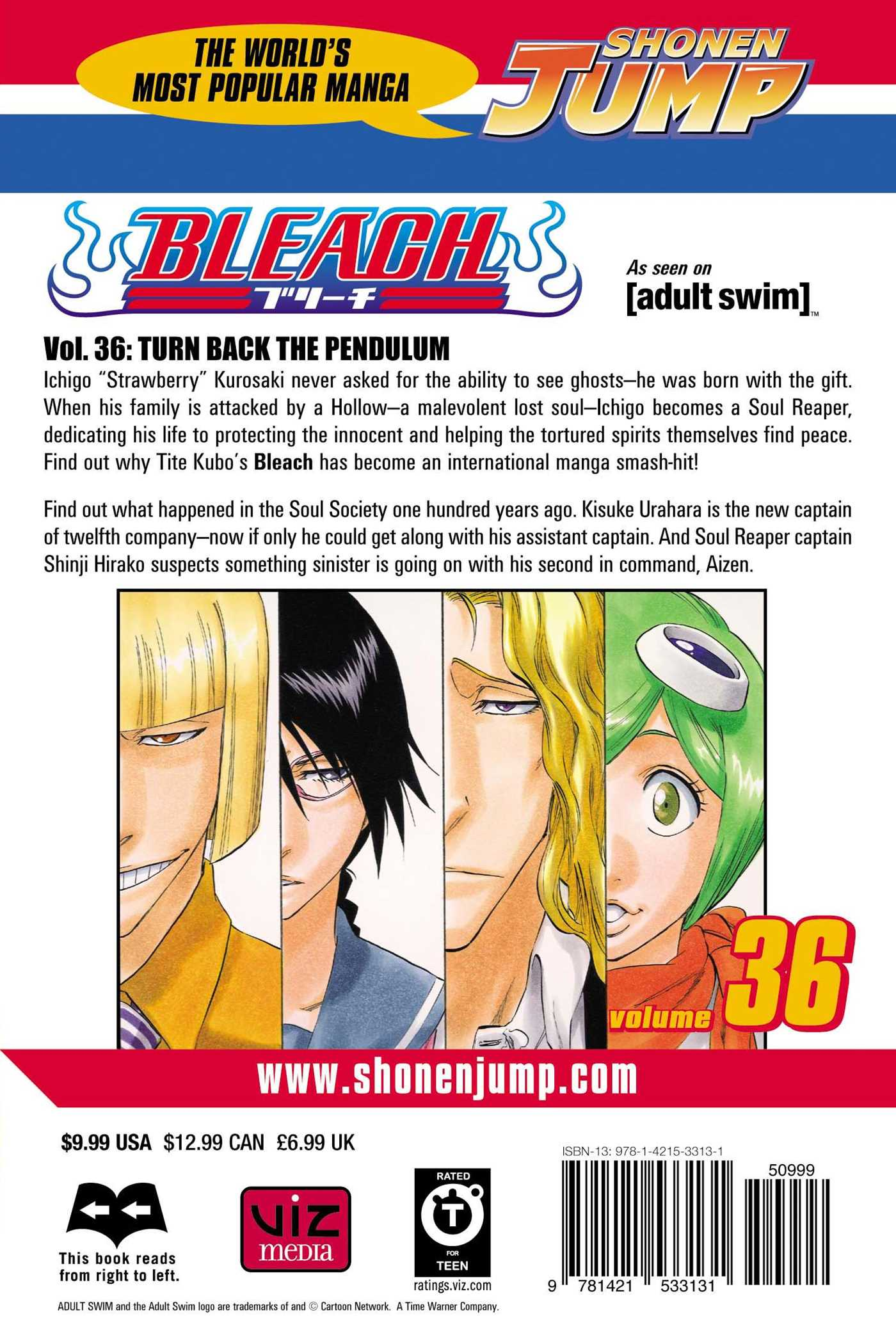 Bleach, Vol  36 | Book by Tite Kubo | Official Publisher