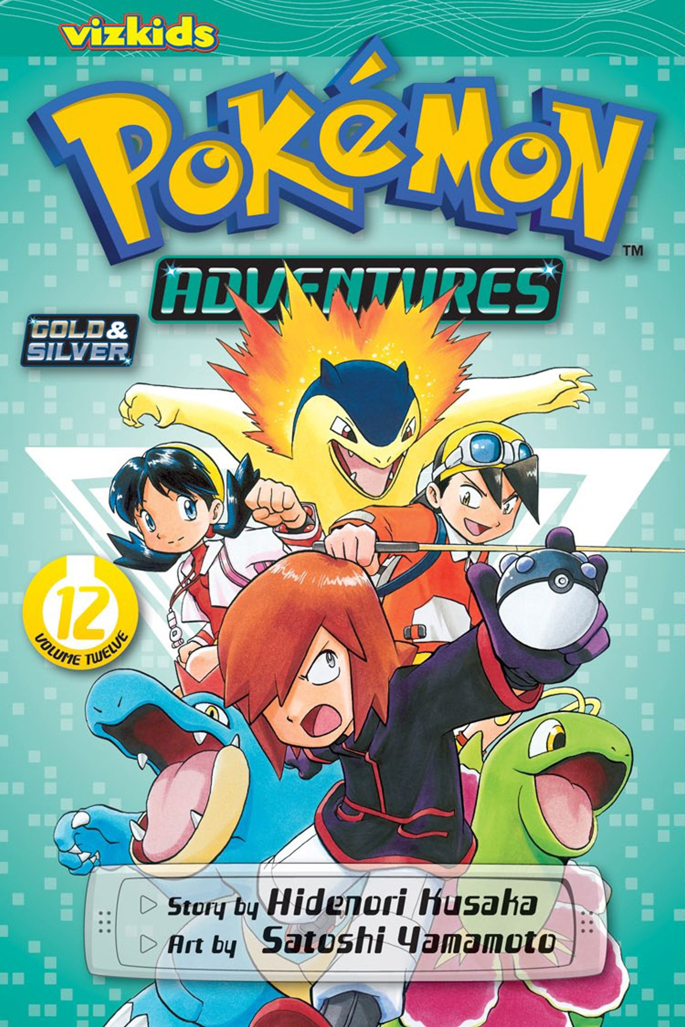 Pokemon Adventures Gold And Silver Vol 12 Book By Hidenori