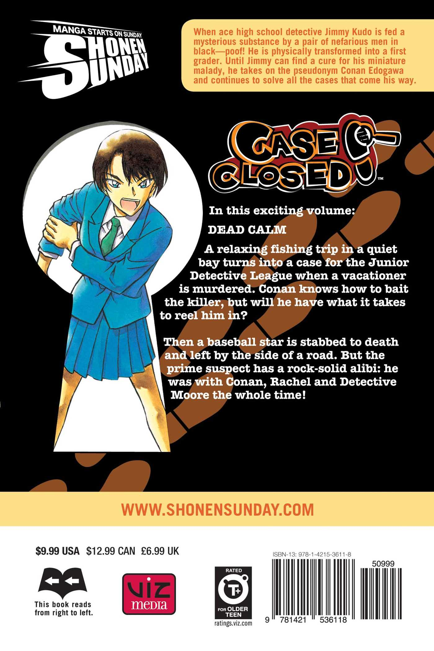 Case closed vol 45 9781421536118 hr back