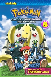 Pokémon: Diamond and Pearl Adventure!, Vol. 8
