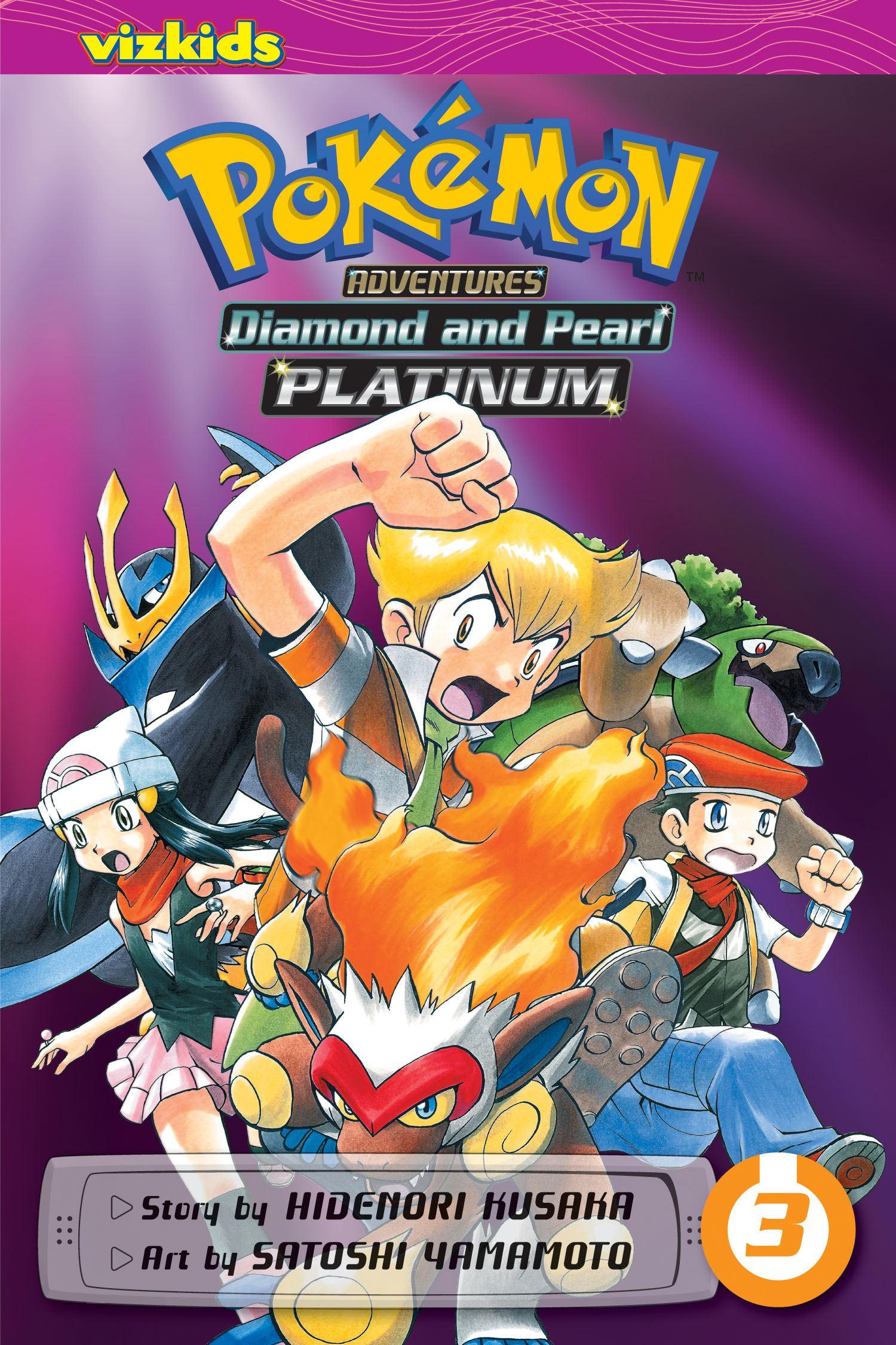 pok233mon adventures diamond and pearlplatinum vol 3