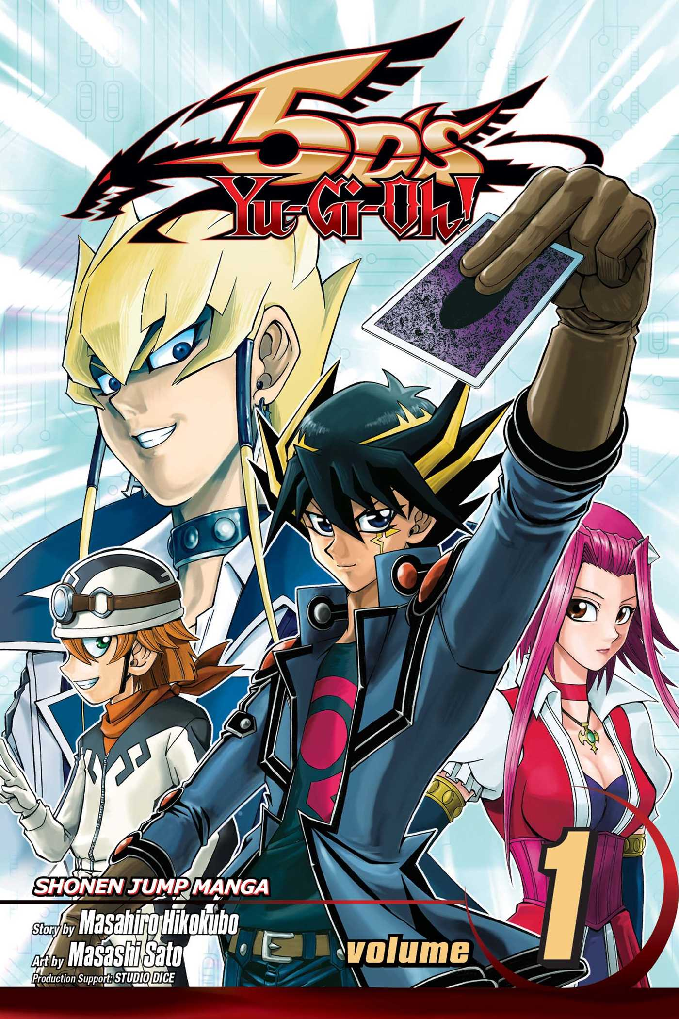 Yu-Gi-Oh! 5D's, Vol  1 | Book by Masahiro Hikokubo, Masashi Sato