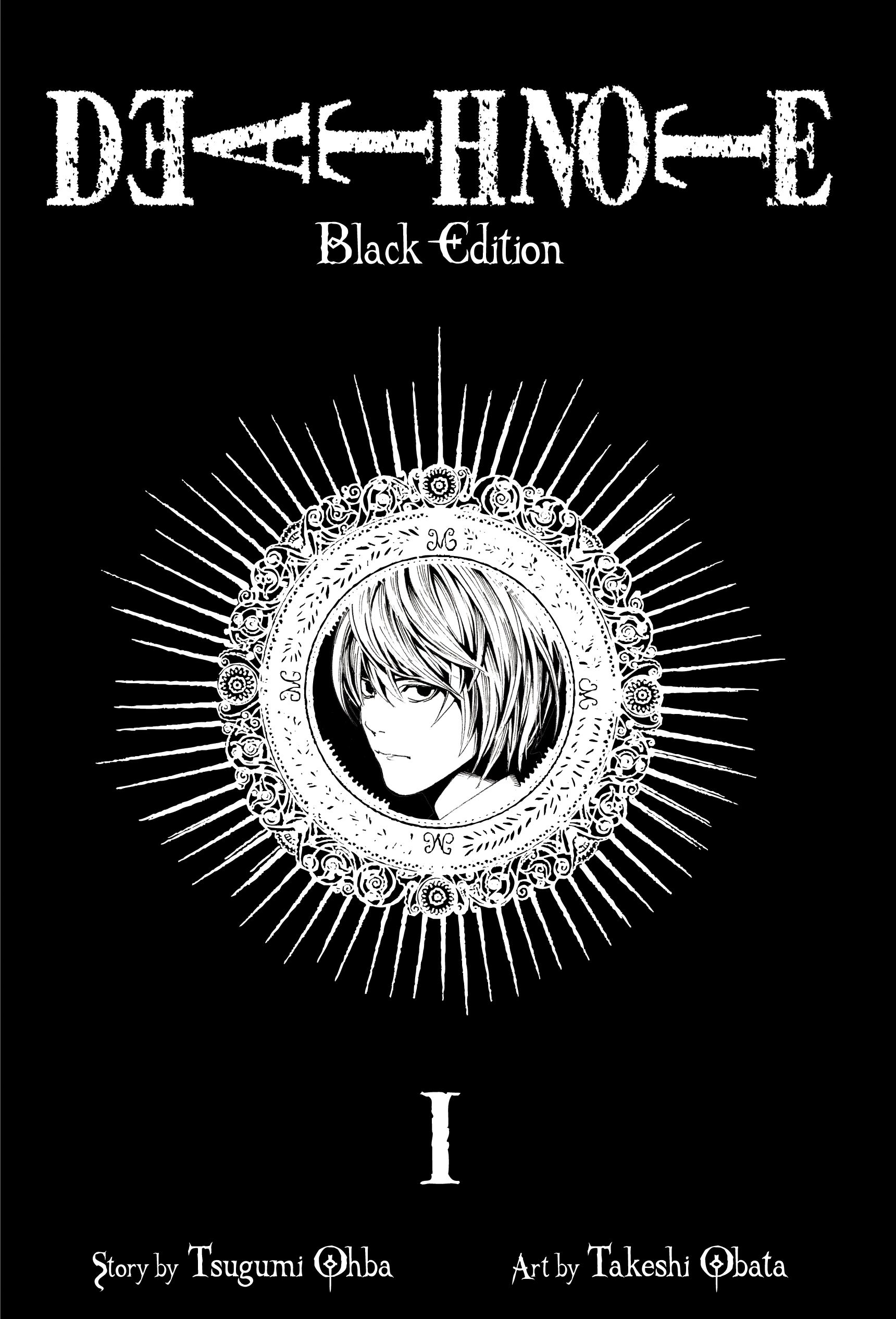 Death note black edition vol 1 9781421539645 hr