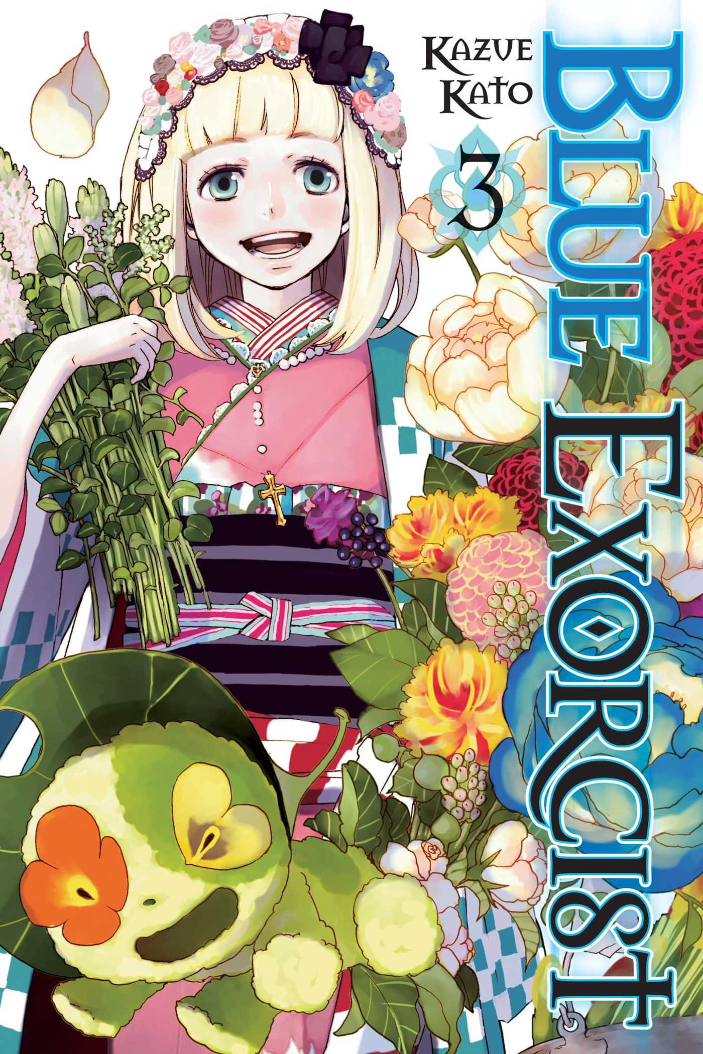Blue Exorcist Vol 3 Book By Kazue Kato Official Publisher Page Simon Schuster Uk