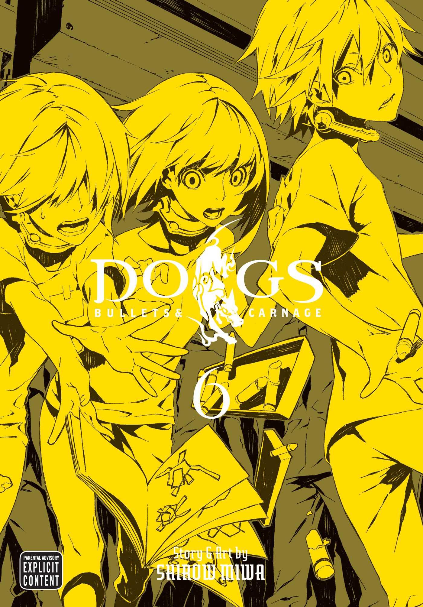 Dogs vol 6 9781421541723 hr