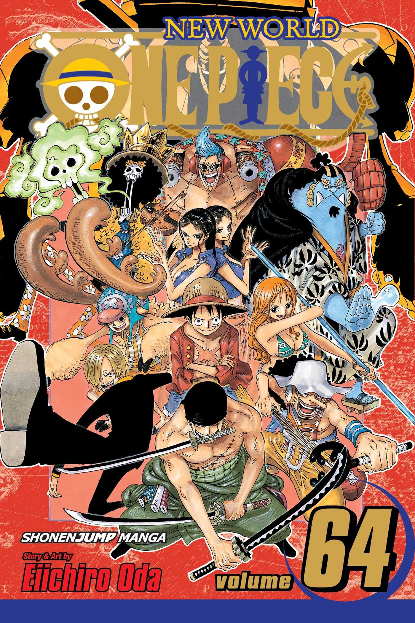 One piece vol 64 9781421543291 hr