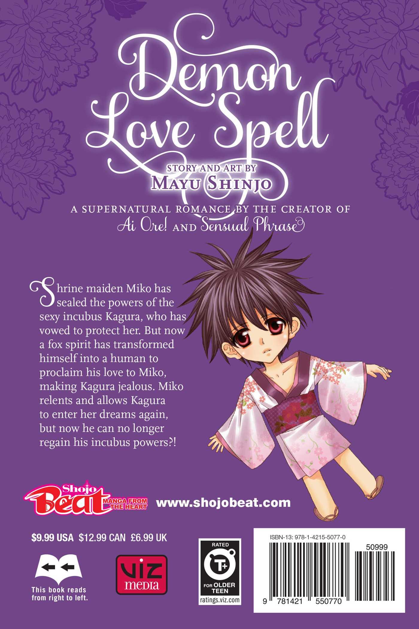 Demon Love Spell, Vol  2 | Book by Mayu Shinjo | Official