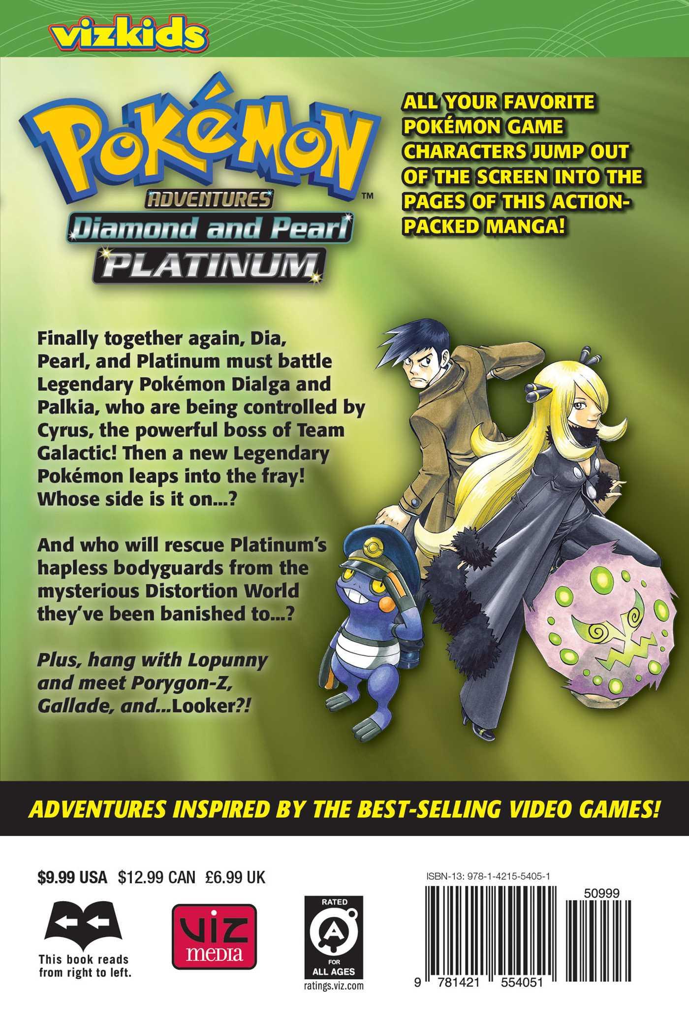 Pokmon adventures diamond and pearlplatinum vol 9 book by pokemon adventures diamond and pearl platinum vol 9 9781421554051 hr back gumiabroncs Images