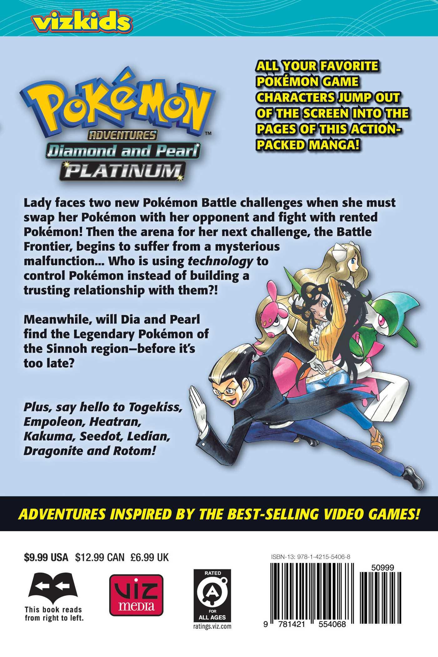 Pokmon adventures diamond and pearlplatinum vol 10 book by pokemon adventures diamond and pearl platinum vol 10 9781421554068 hr back gumiabroncs Images